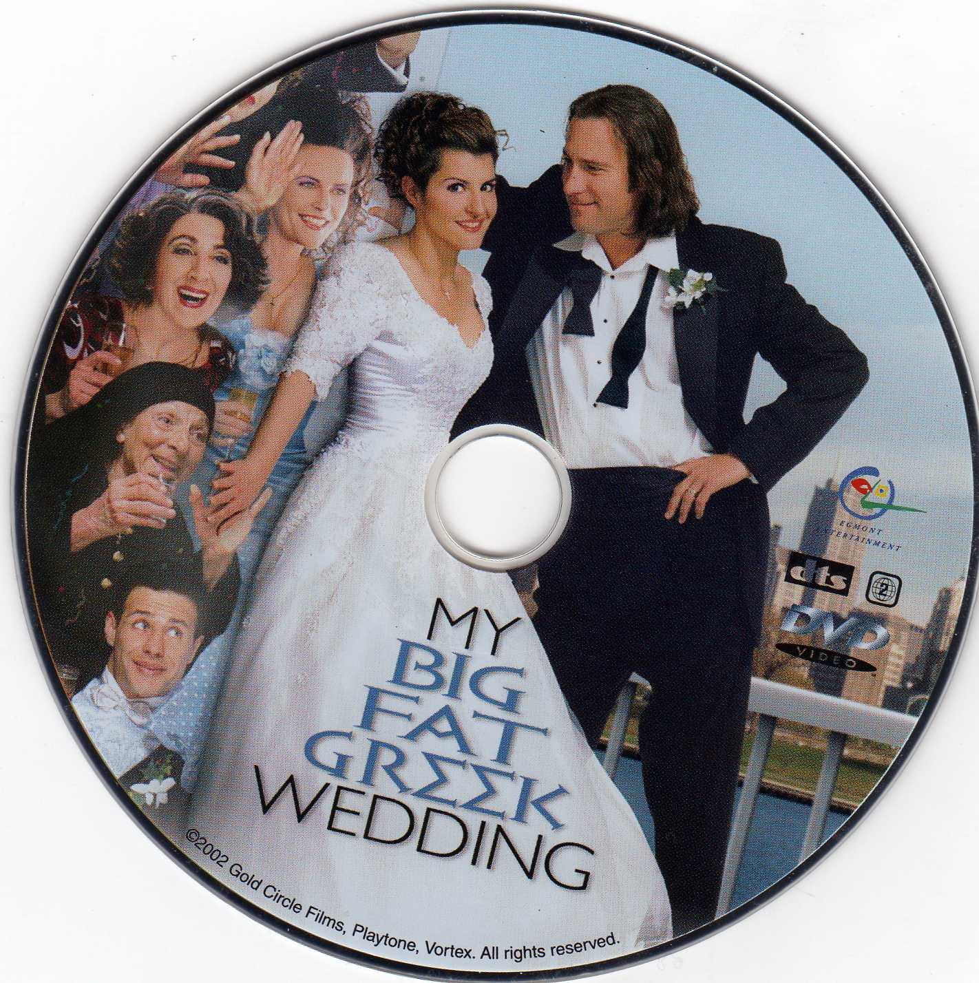 My Big Fat Geek Wedding: COVERS.BOX.SK ::: My Big Fat Greek Wedding (2002)