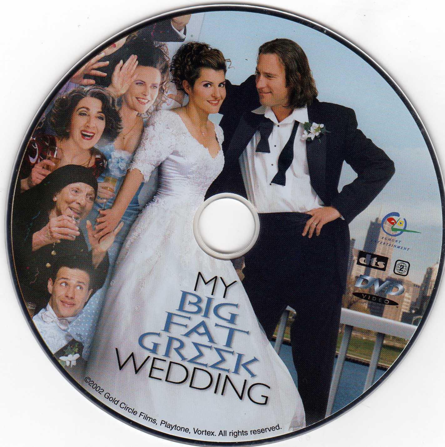 Covers Box Sk My Big Fat Greek Wedding 2002 High Quality Dvd Blueray Movie