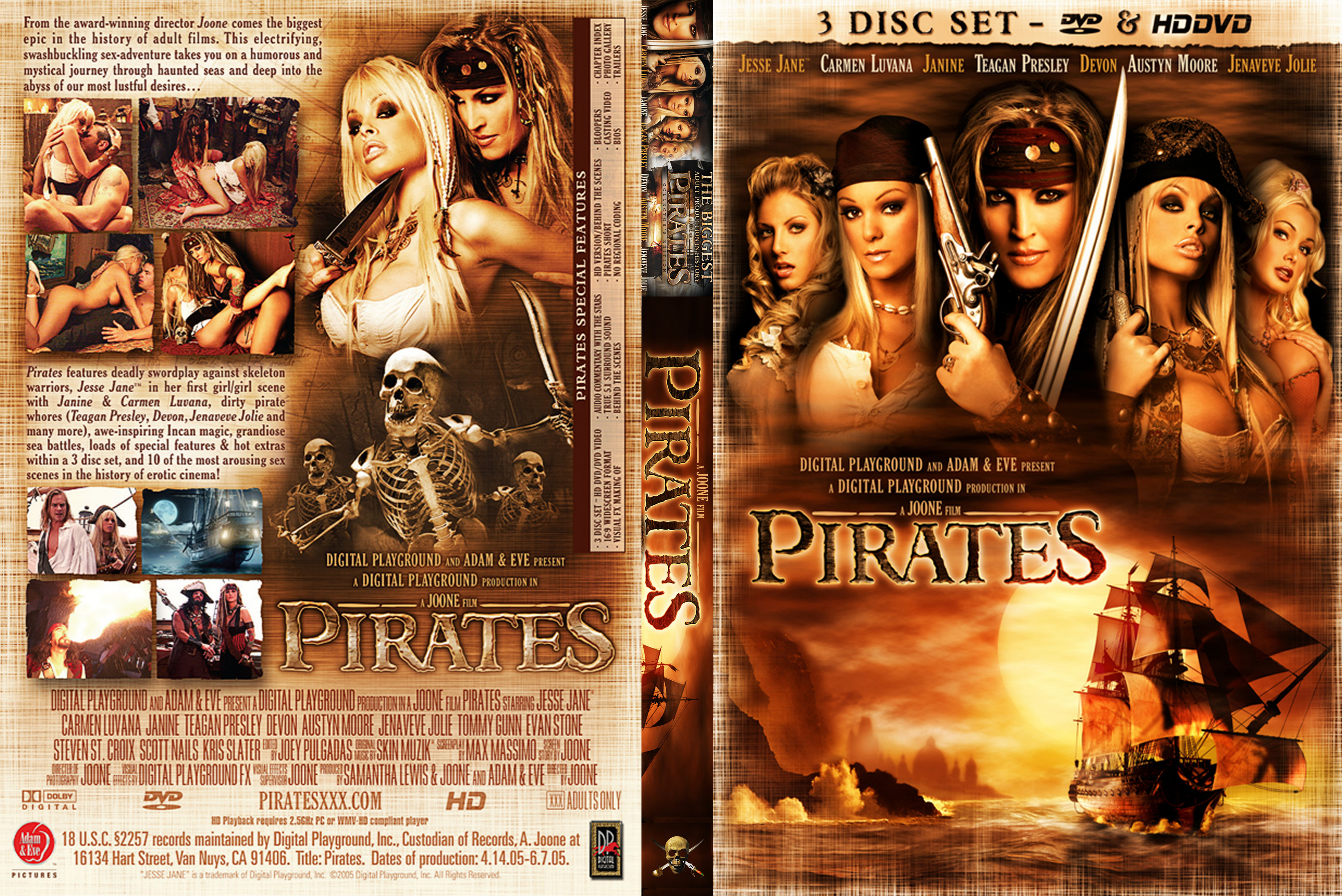 Pirates xxx movie sex scenes in 3gp nsfw scenes