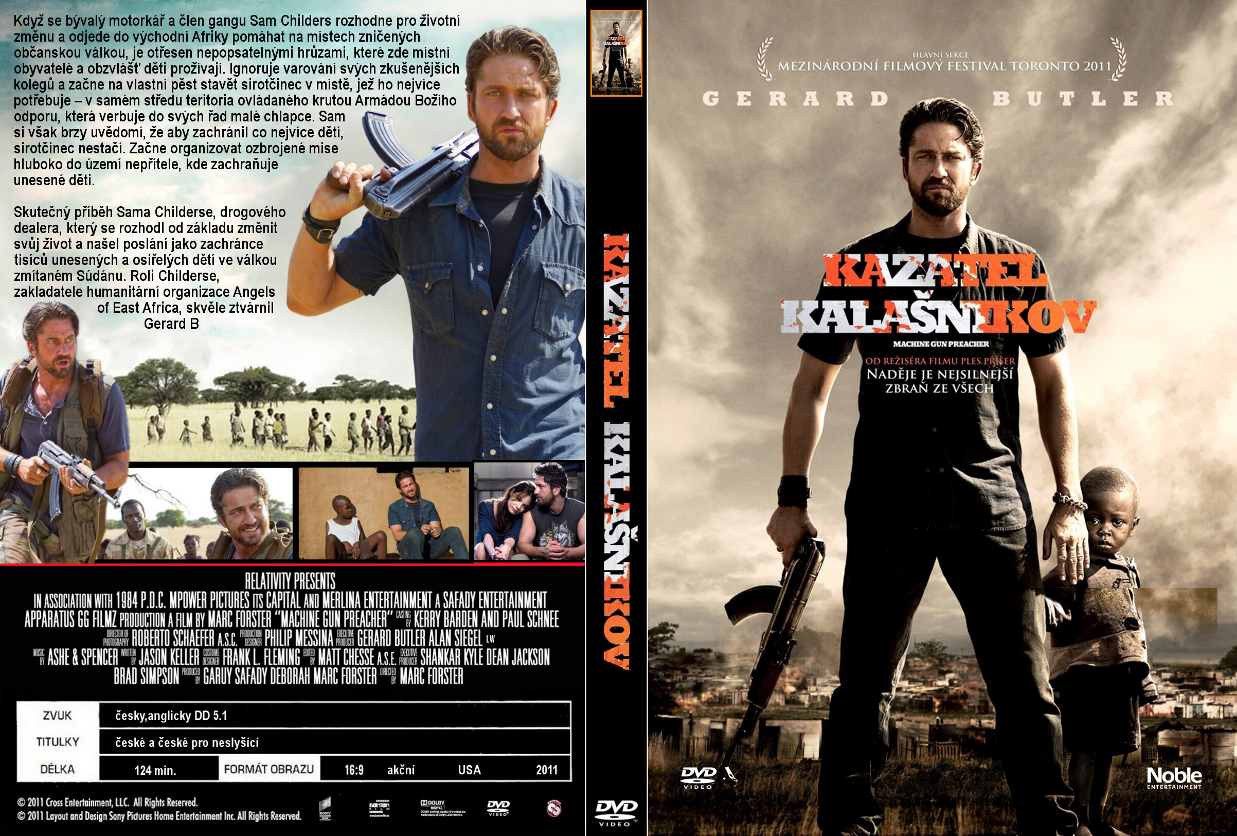 Covers Box Sk Machine Gun Preacher 2011 High Quality Dvd