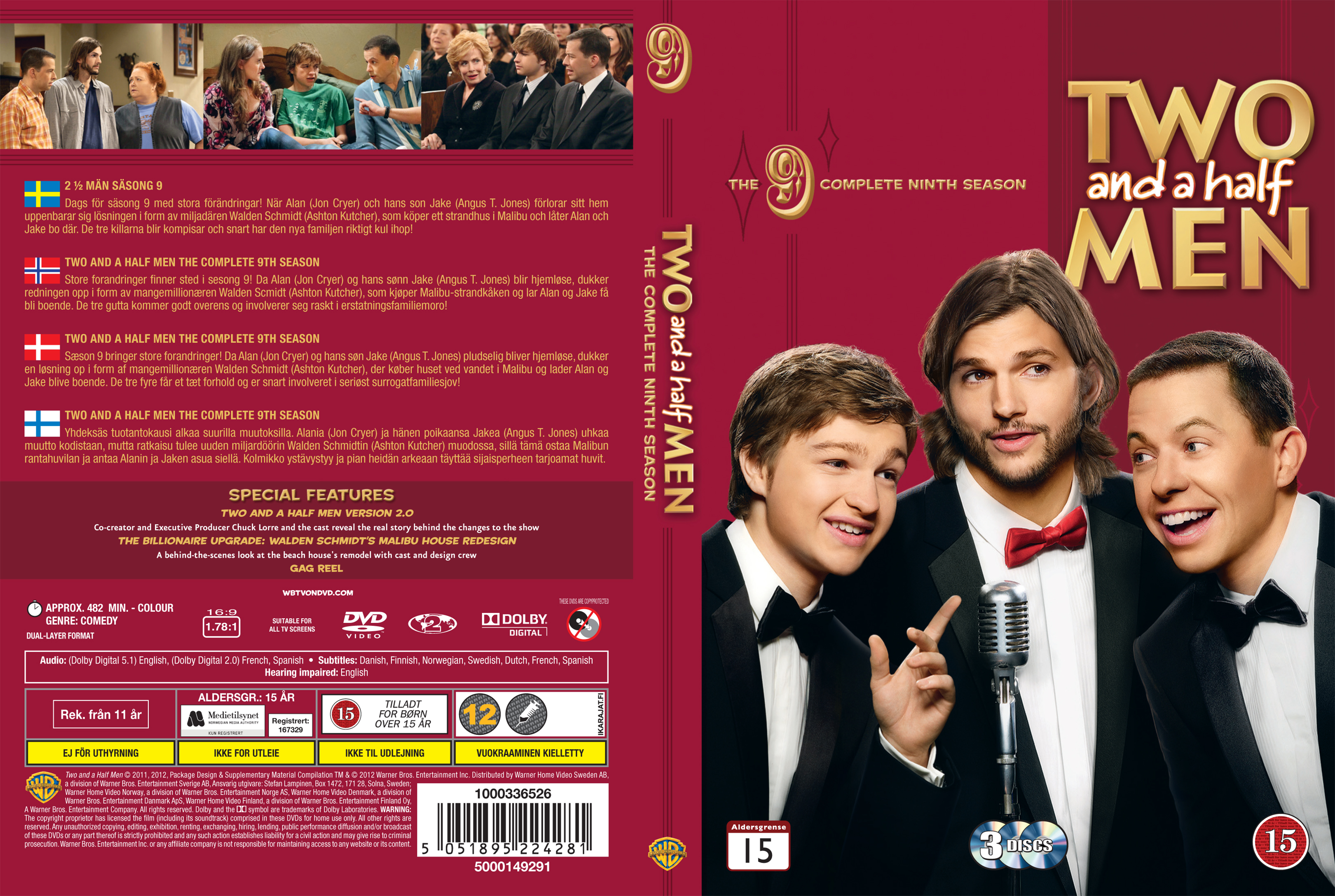 COVERSBOXSK Two And A Half Men