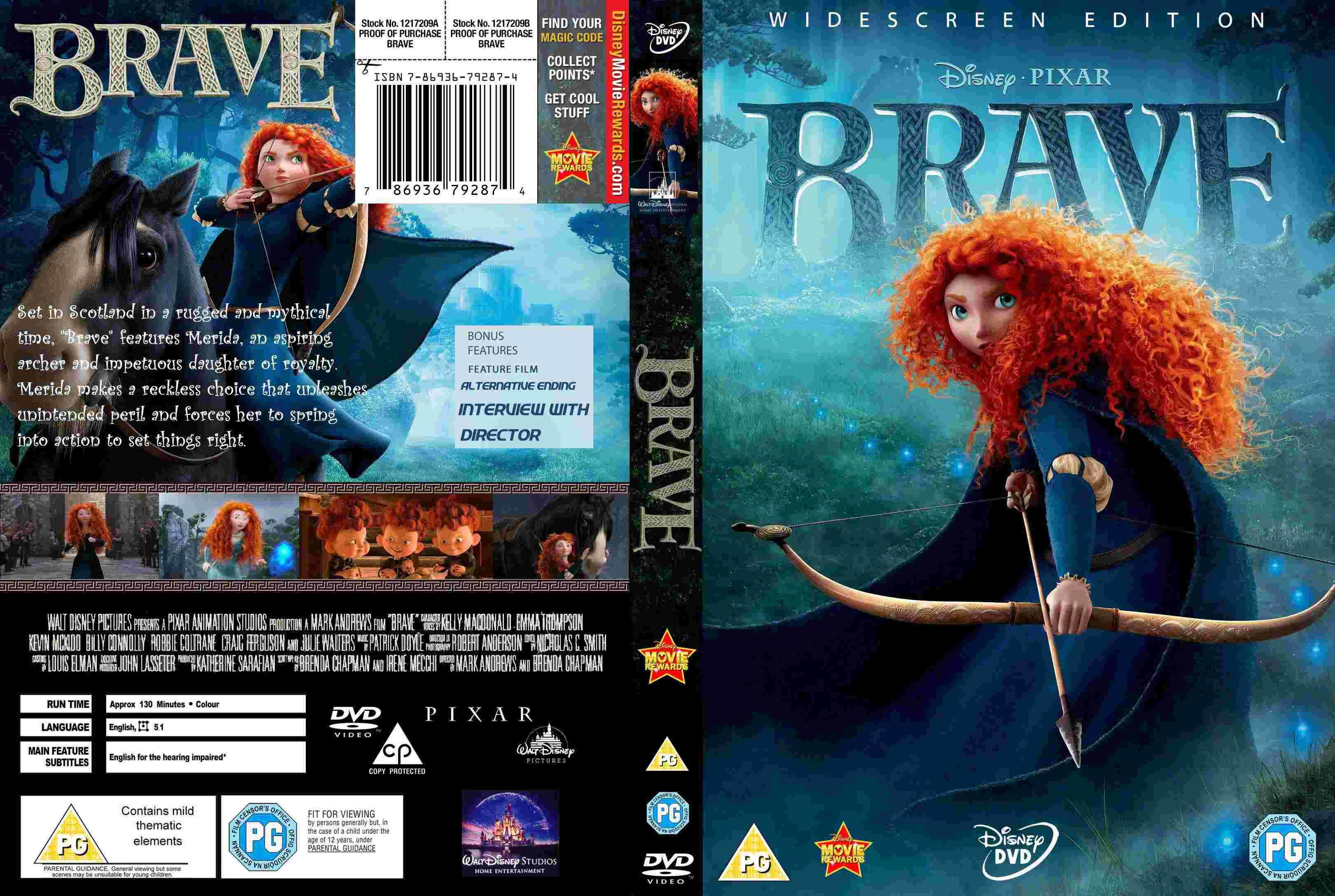 covers box sk brave high quality dvd blueray movie