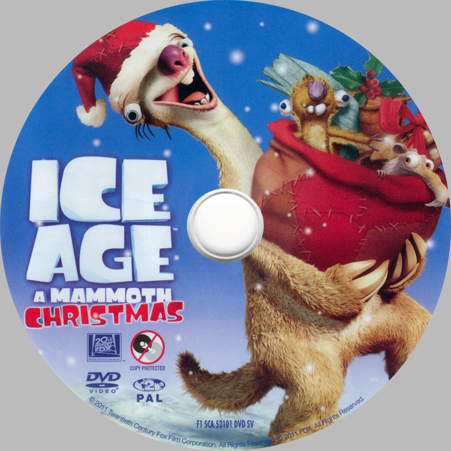 Ice Age A Mammoth Christmas.Covers Box Sk Ice Age A Mammoth Christmas High