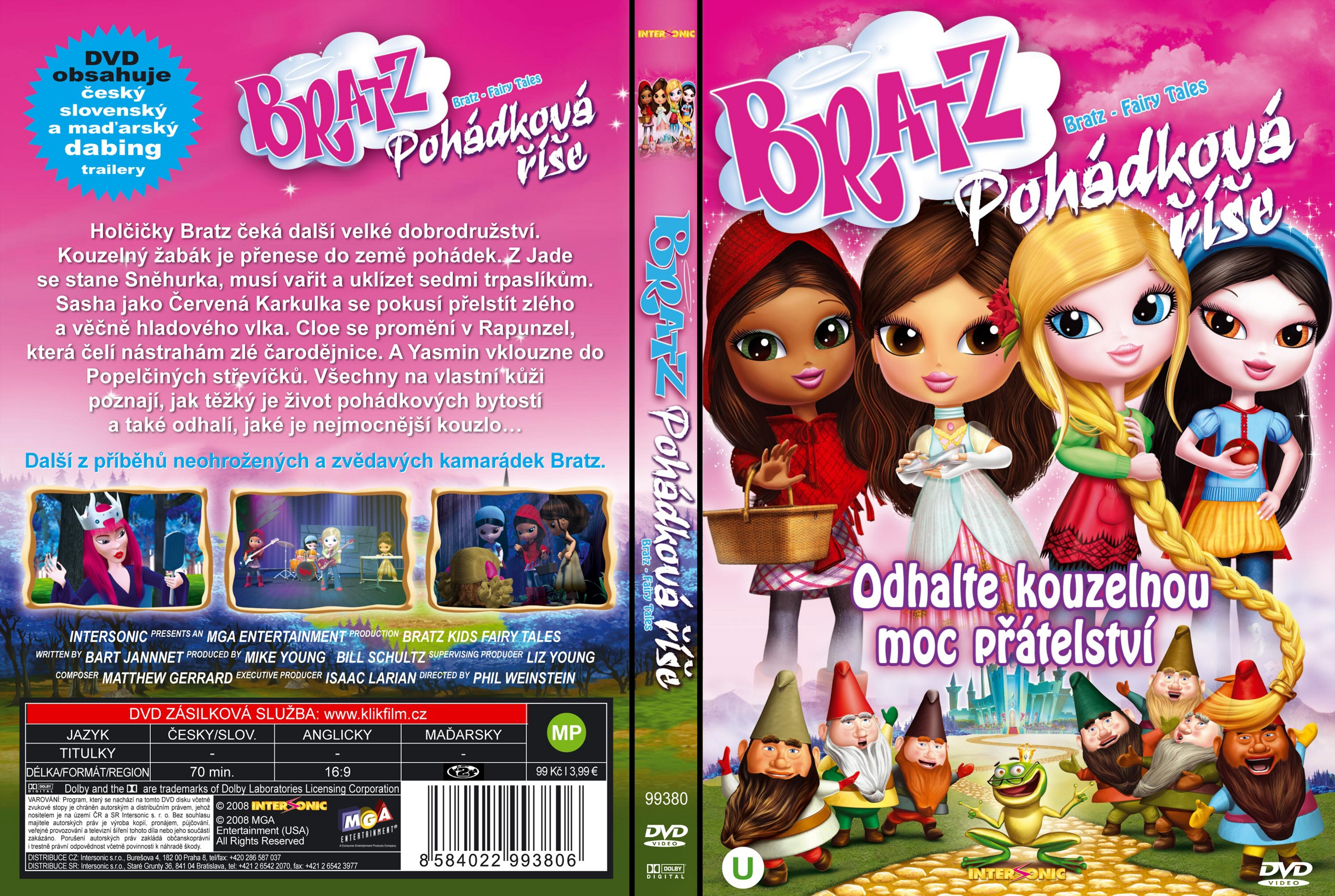 coversboxsk bratz kidz fairy tales video 2008