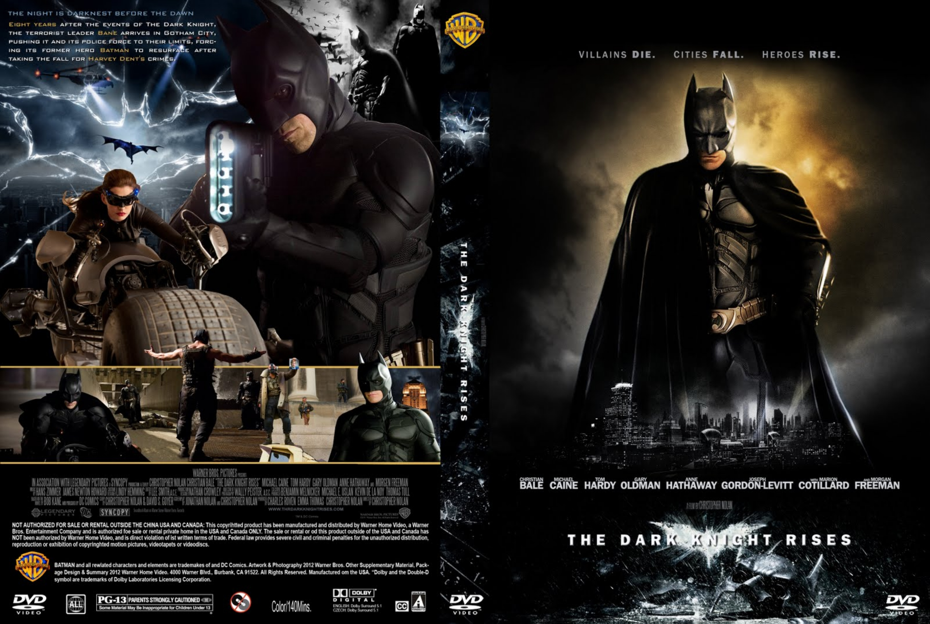 Covers. Box. Sk::: the dark knight rises high quality dvd.