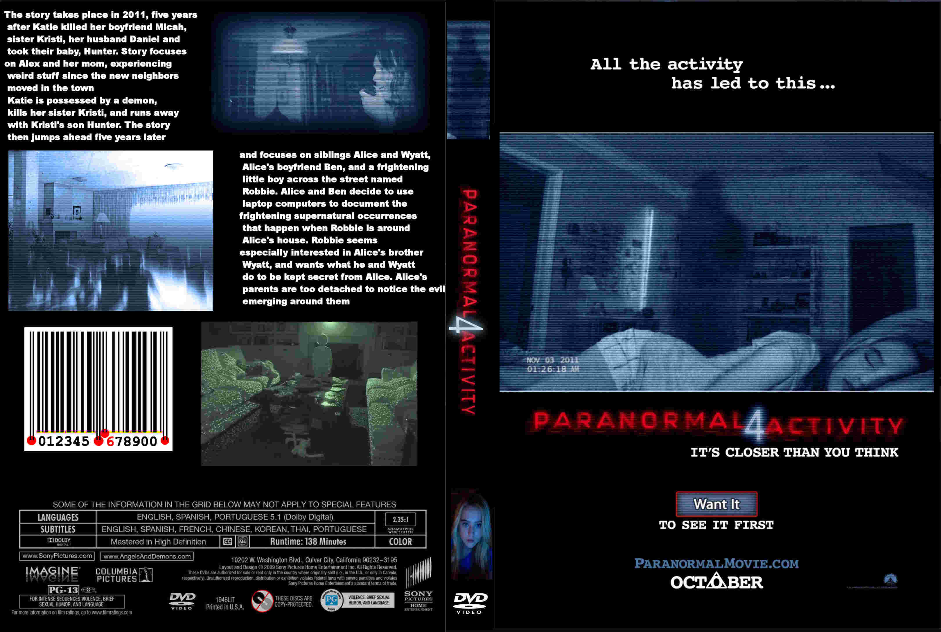 paranormal activity 5 cover - photo #26