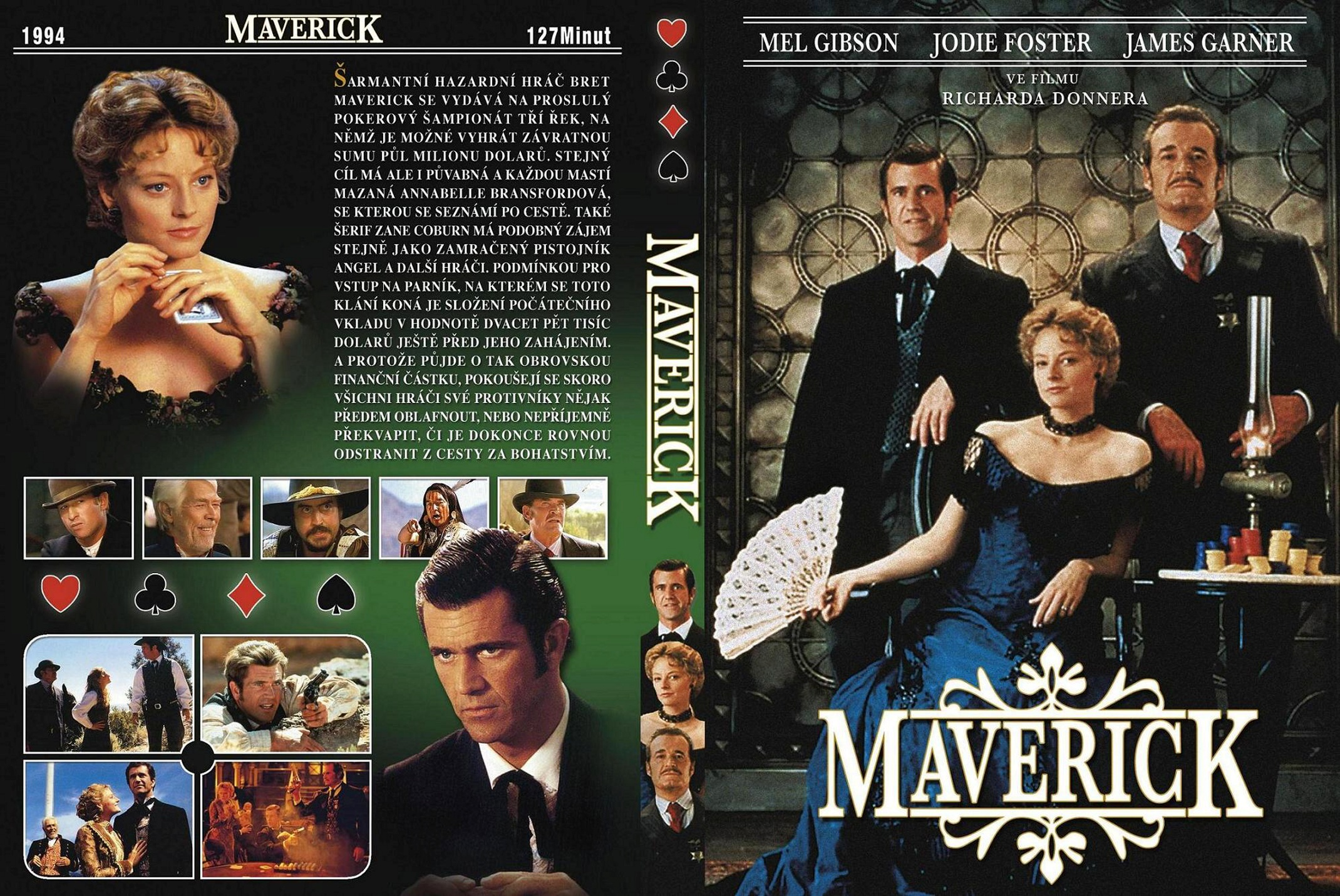 Covers Box Sk Maverick 1994 High Quality Dvd Blueray Movie