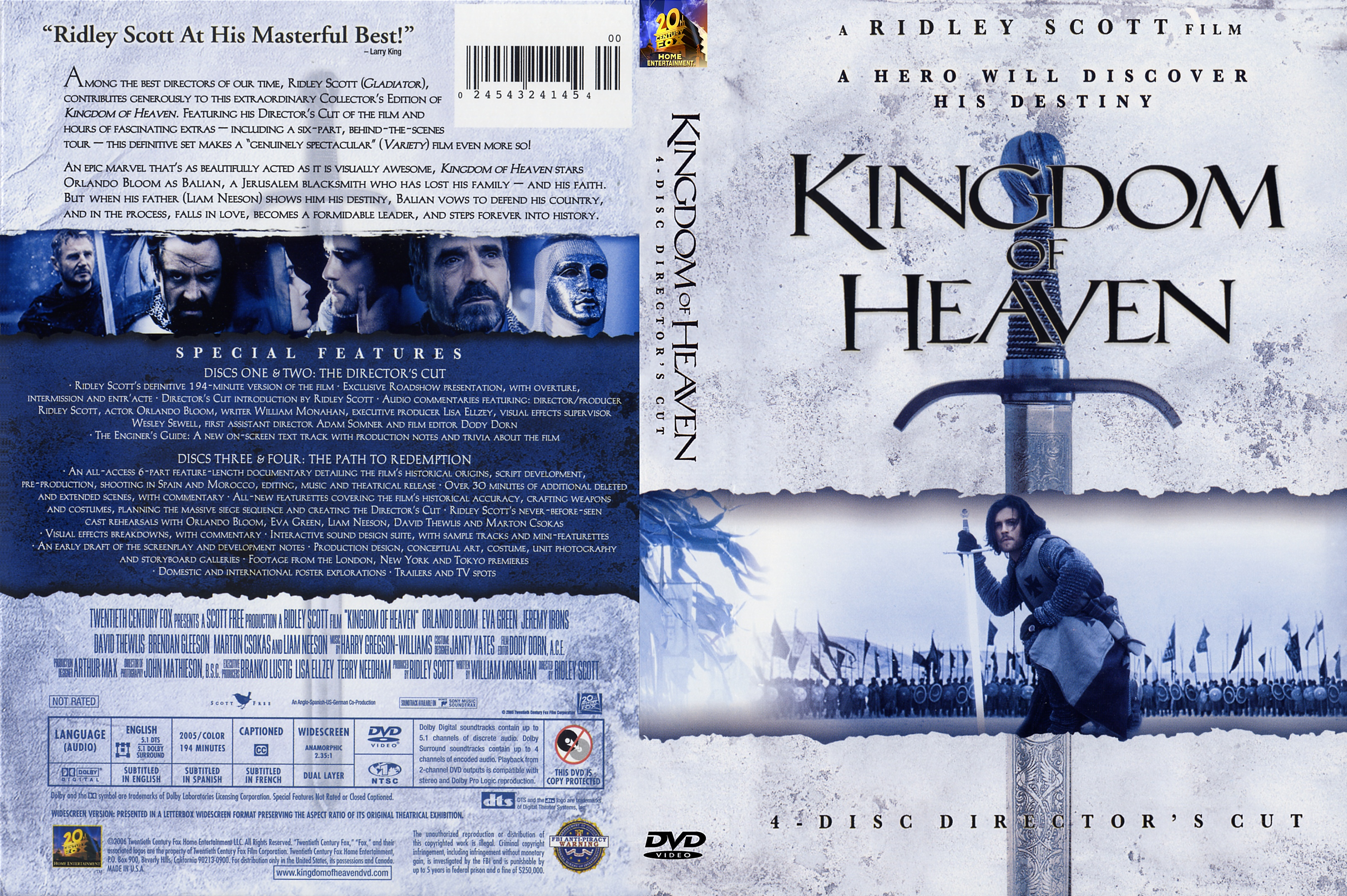 This is an image of Smart Kingdom of Heaven Dvd Label