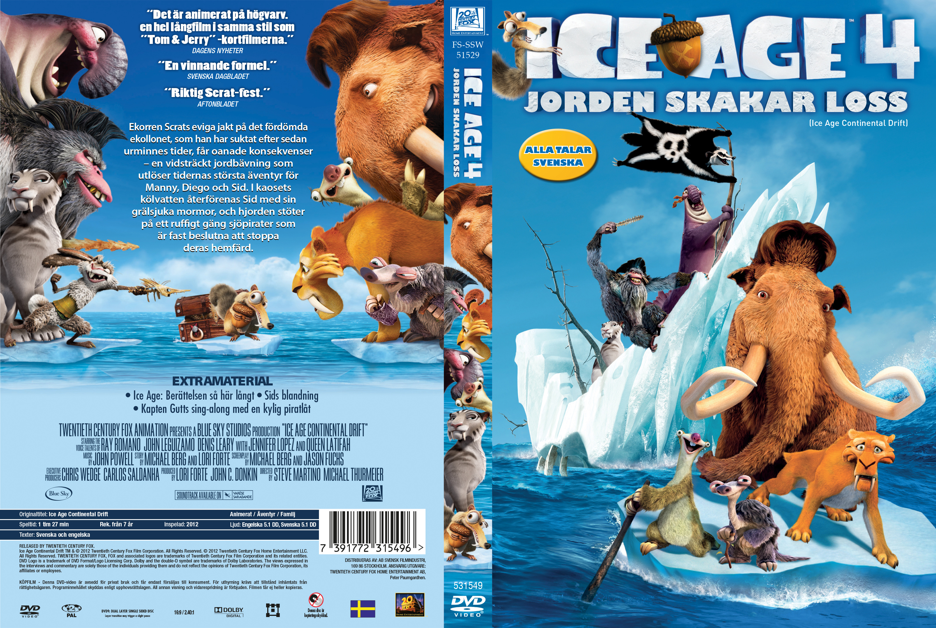 covers.box.sk ::: ice age 4 continental drift - high quality dvd