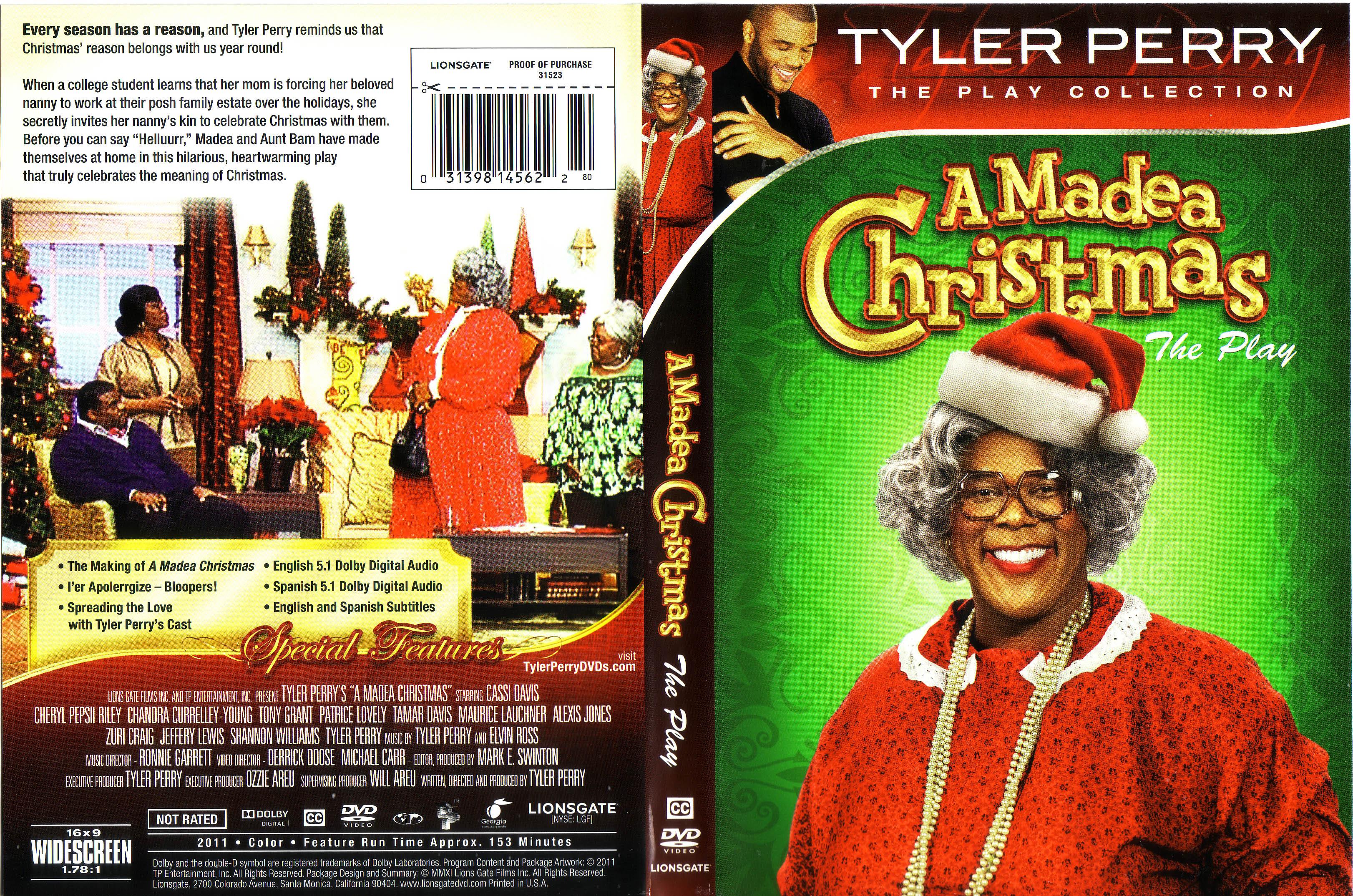 Madea Christmas Play.Covers Box Sk Madea Christmas High Quality Dvd