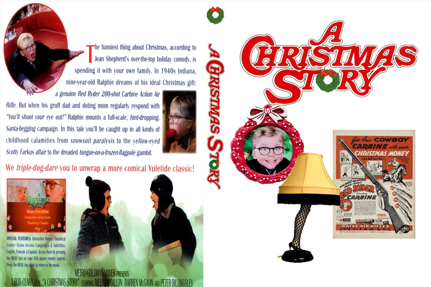 A Christmas Story 1983 - front back