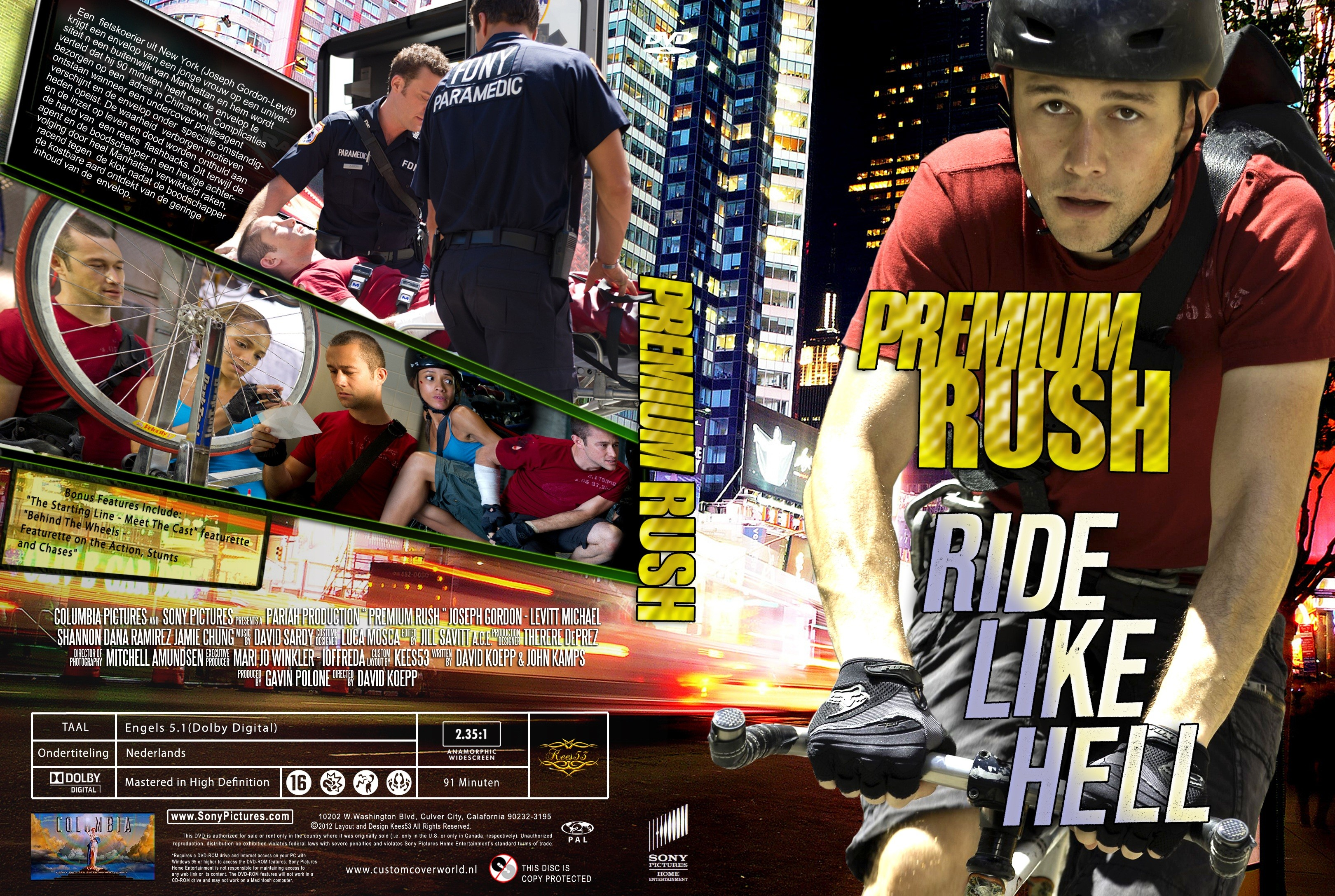 Covers Box Sk Premium Rush 2012 High Resolution High Quality Dvd Blueray Movie
