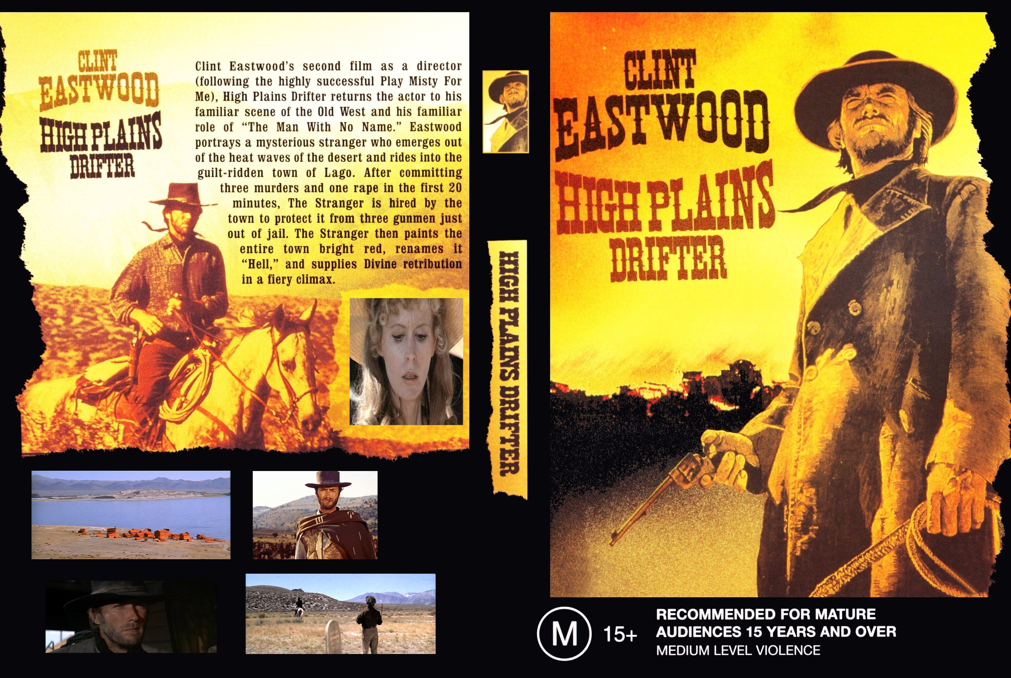 high plains drifter (1973) full movie