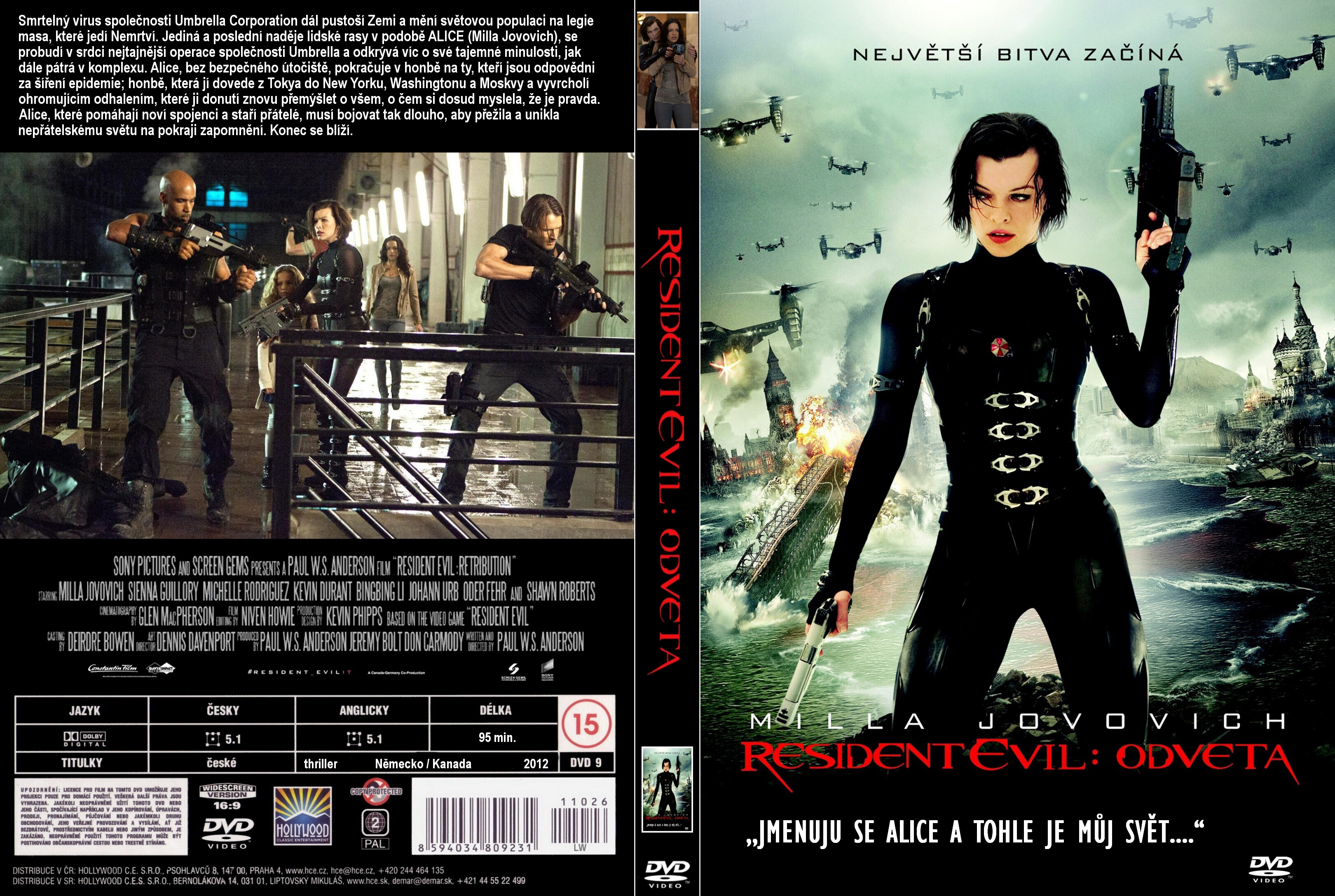 Resident Evil Retribution 2012 Bluray 720p 650mb Movies4u Ar