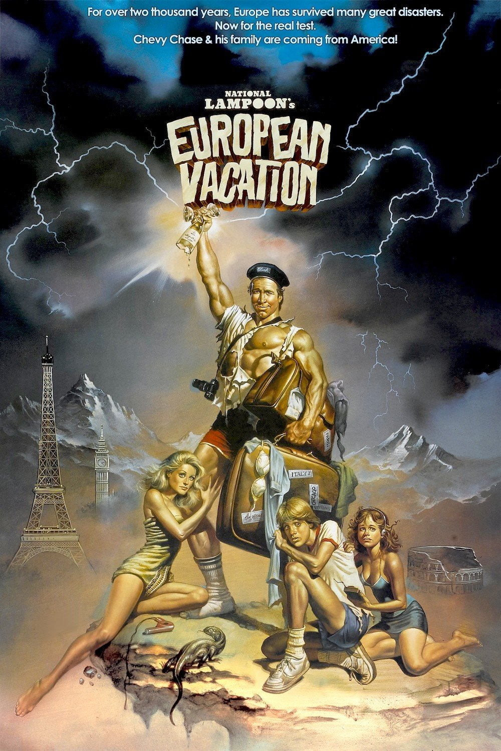 COVERS.BOX.SK ::: National Lampoon\'s European Vacation