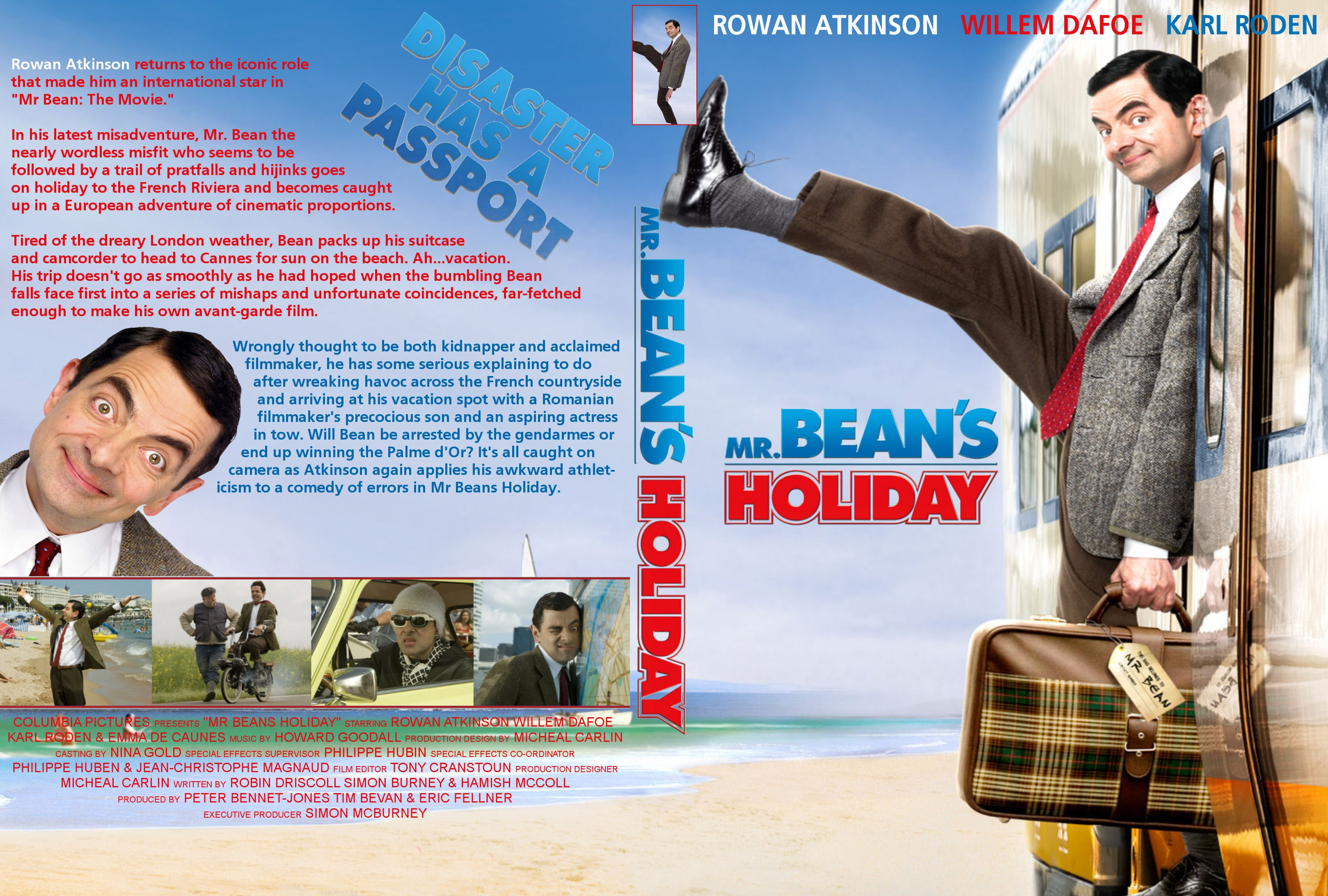 coversboxsk mr beans holiday 2007 high quality