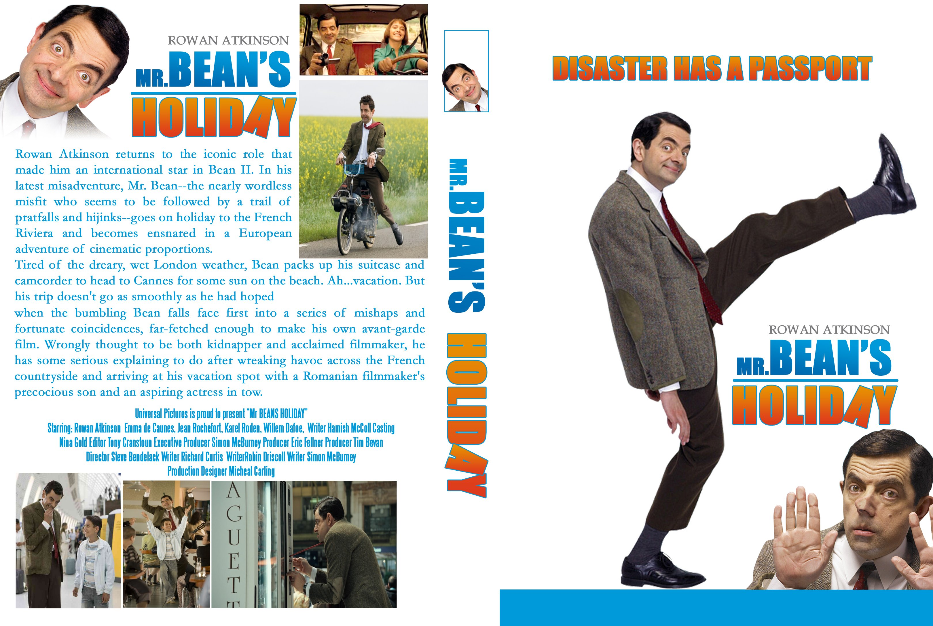 Covers Box Sk Mr Bean S Holiday 2007 High Quality Dvd Blueray Movie