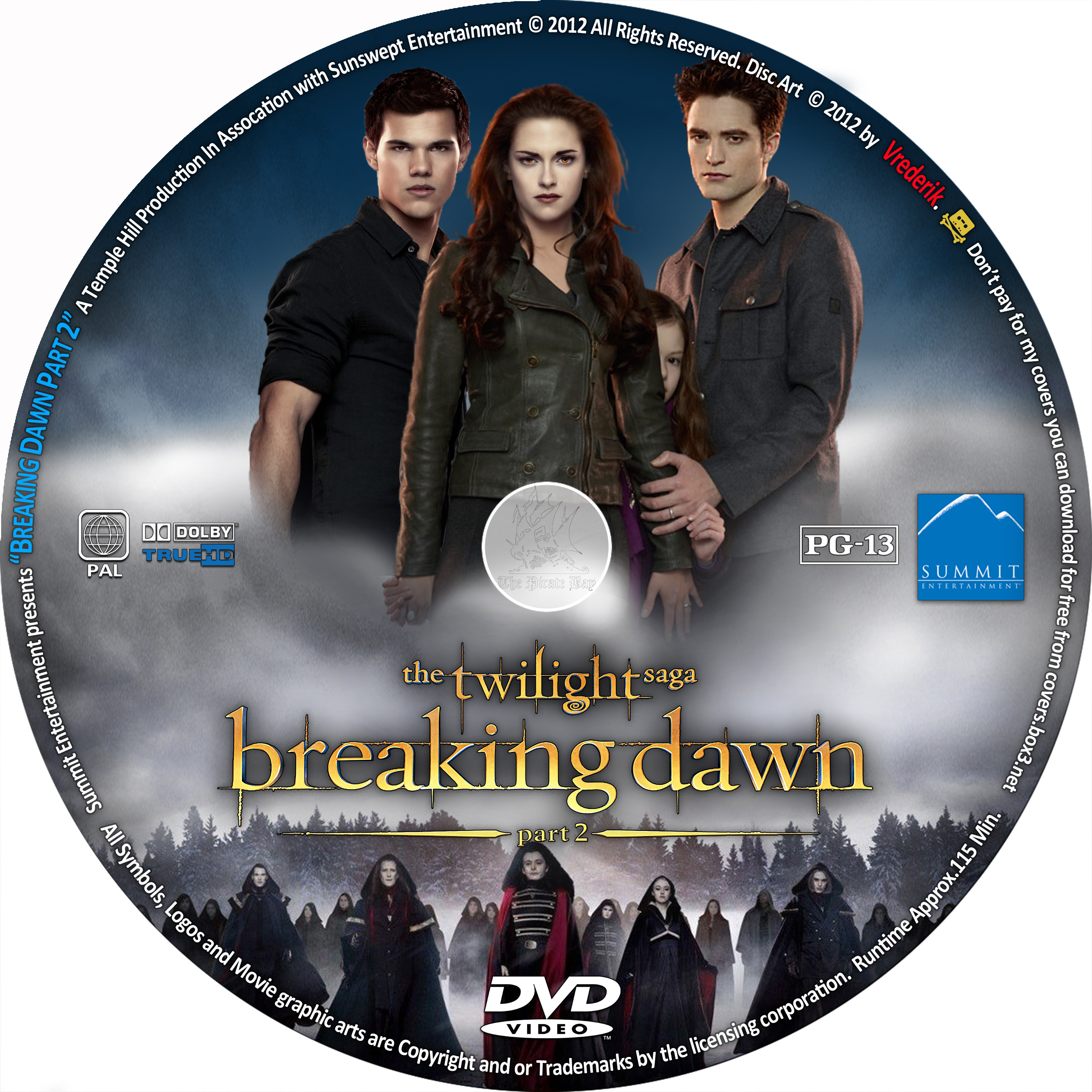 Coversx The Twilight Saga Breaking Dawn Part 2 High