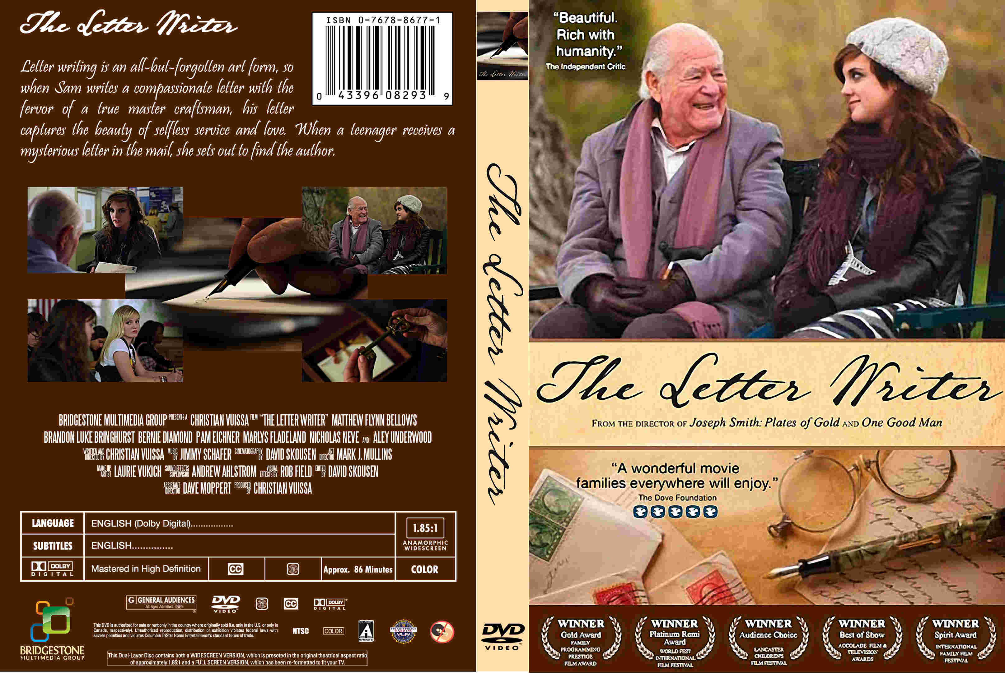 COVERS BOX SK The Letter Writer high quality DVD Blueray
