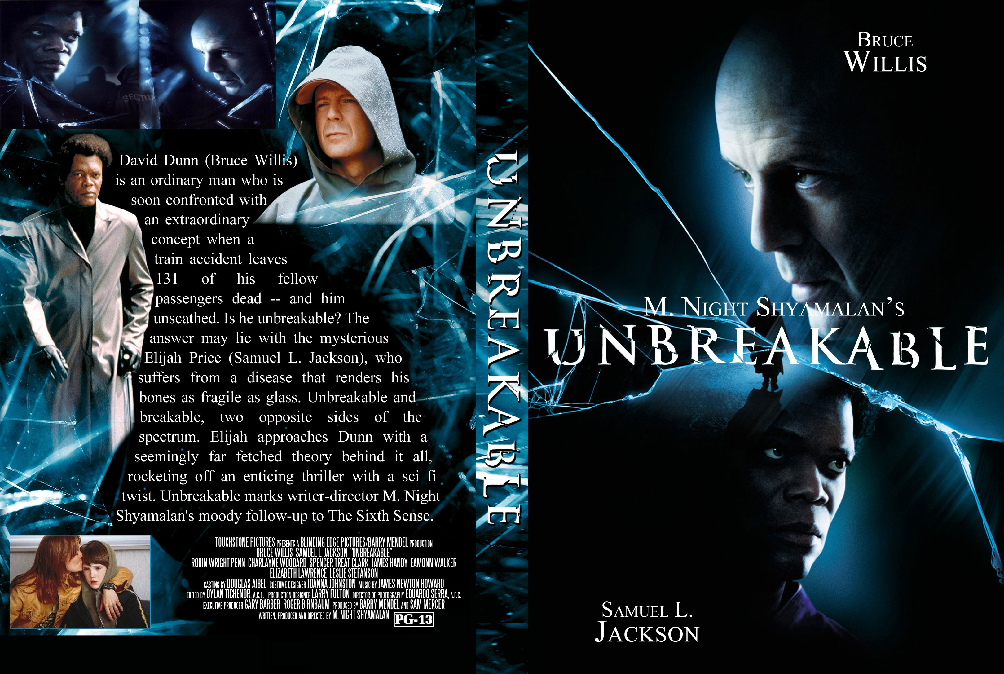 Covers Box Sk Unbreakable 2000 High Quality Dvd Blueray Movie