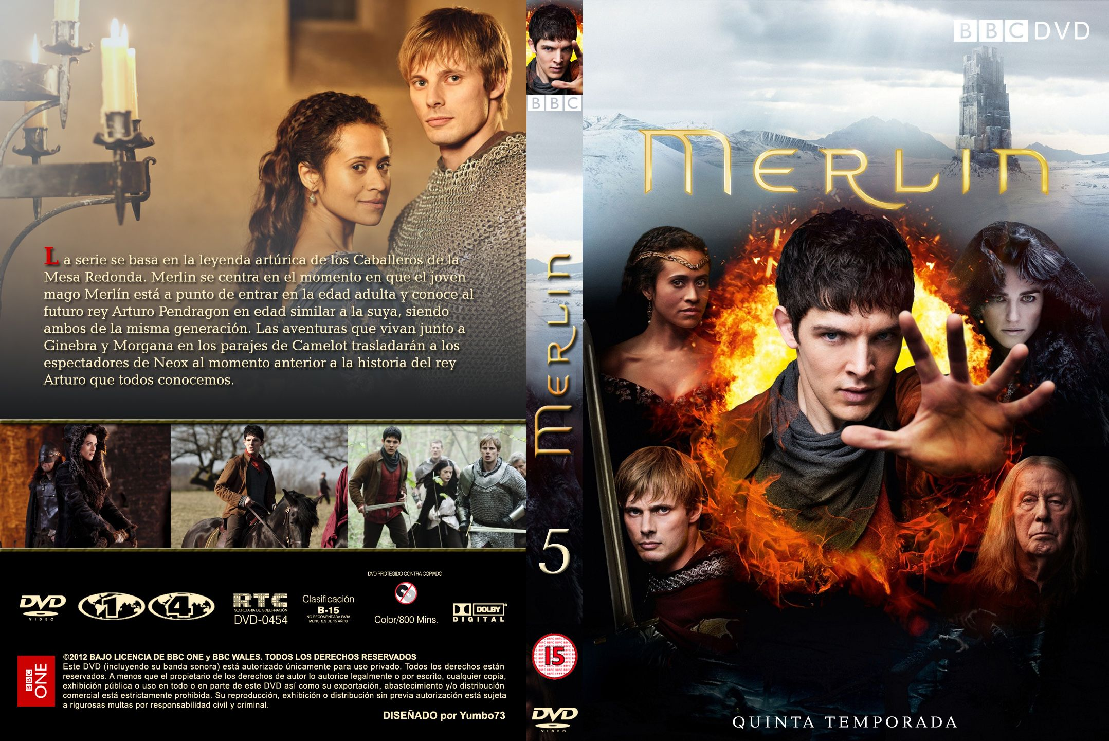 COVERS BOX SK ::: merlin season 5 [imdb-dl] - high quality DVD
