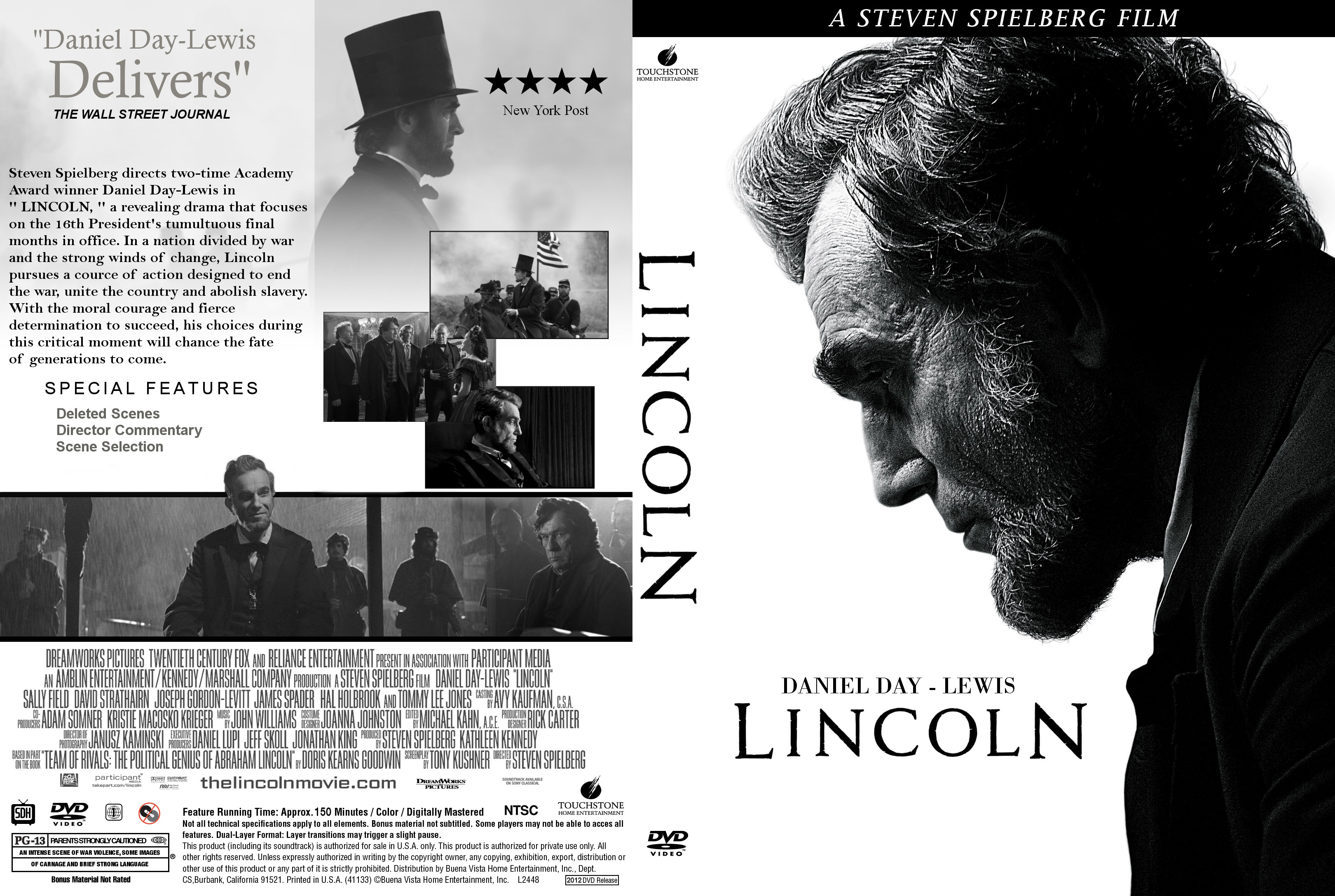 Covers Box Sk Lincoln 2012 High Quality Dvd Blueray Movie