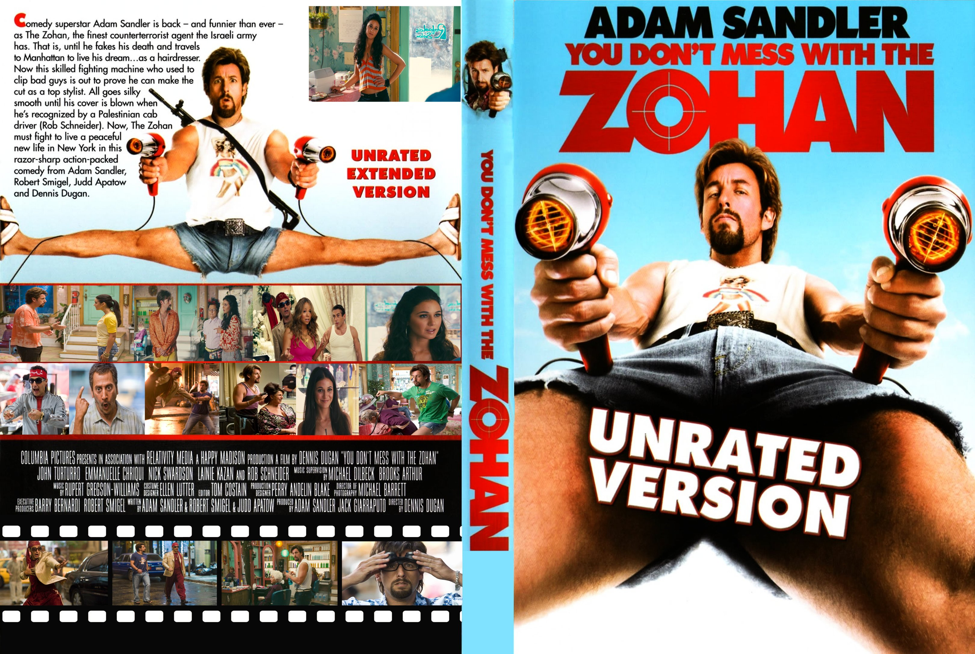 You Dont Mess with the Zohan 2008 Movie Download
