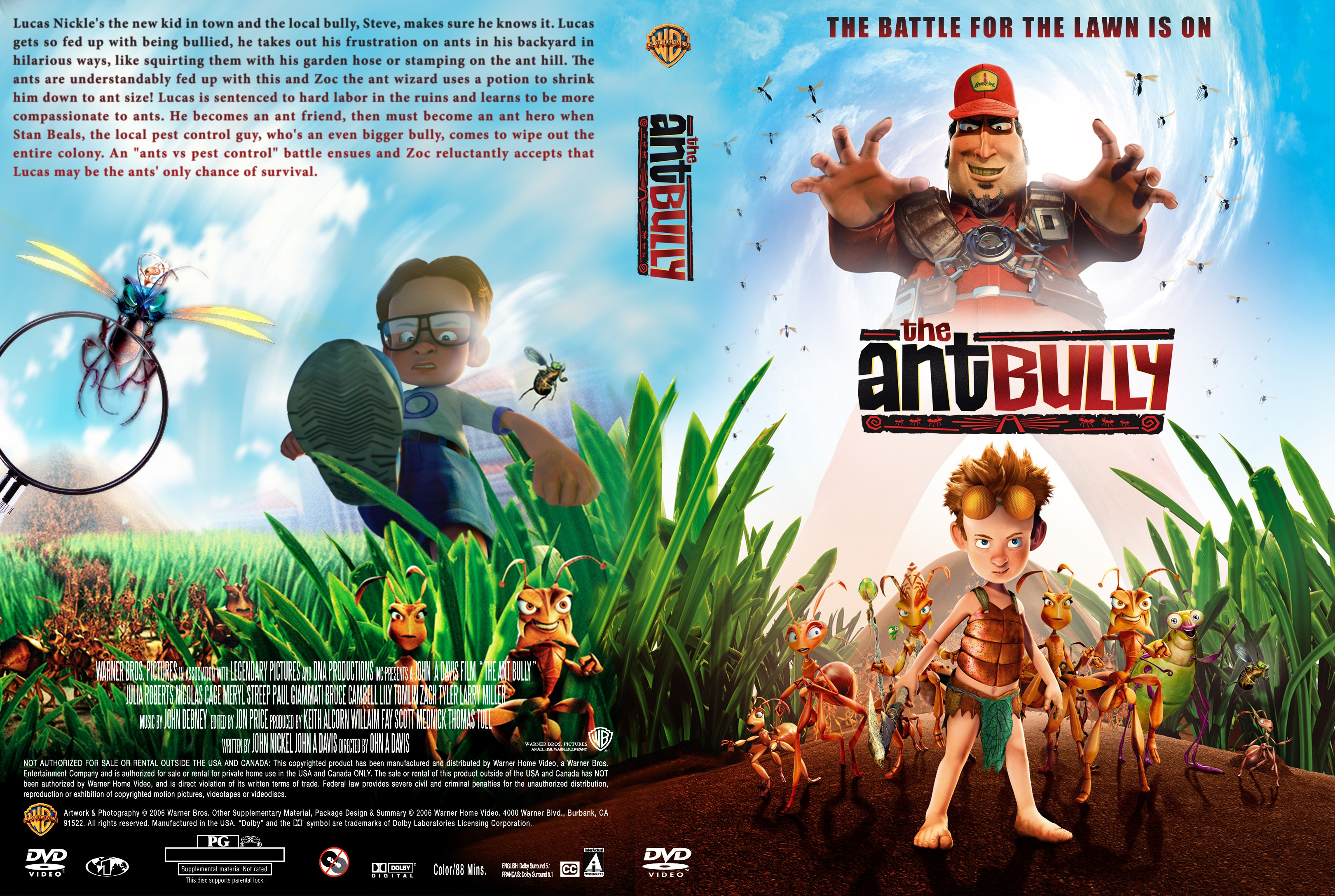 Covers Box Sk The Ant Bully 2006 High Quality Dvd