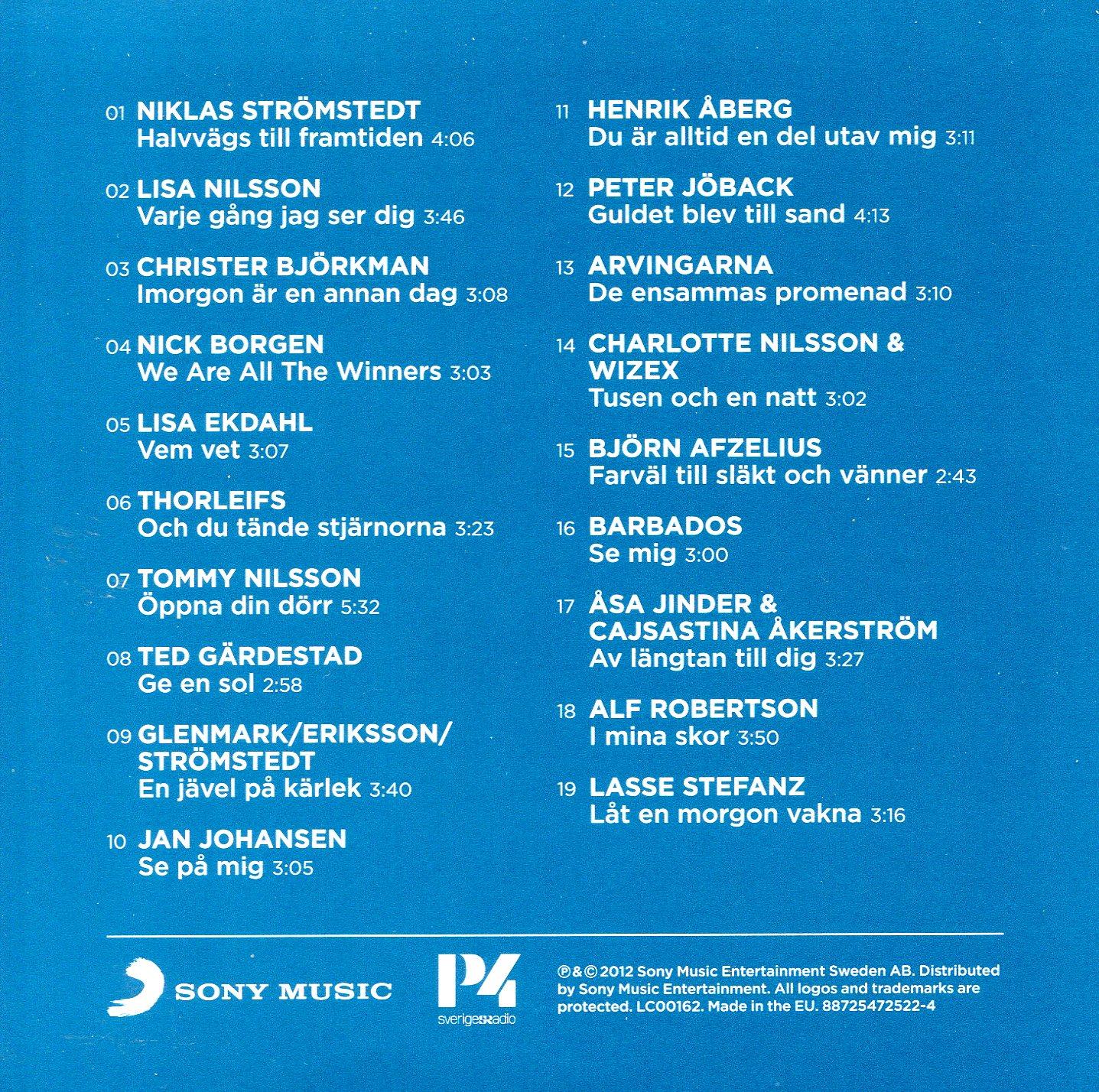 svensktoppen 50 år cd COVERS.BOX.SK ::: svensktoppen 50  r   5cd box (2012) cd 4   high  svensktoppen 50 år cd