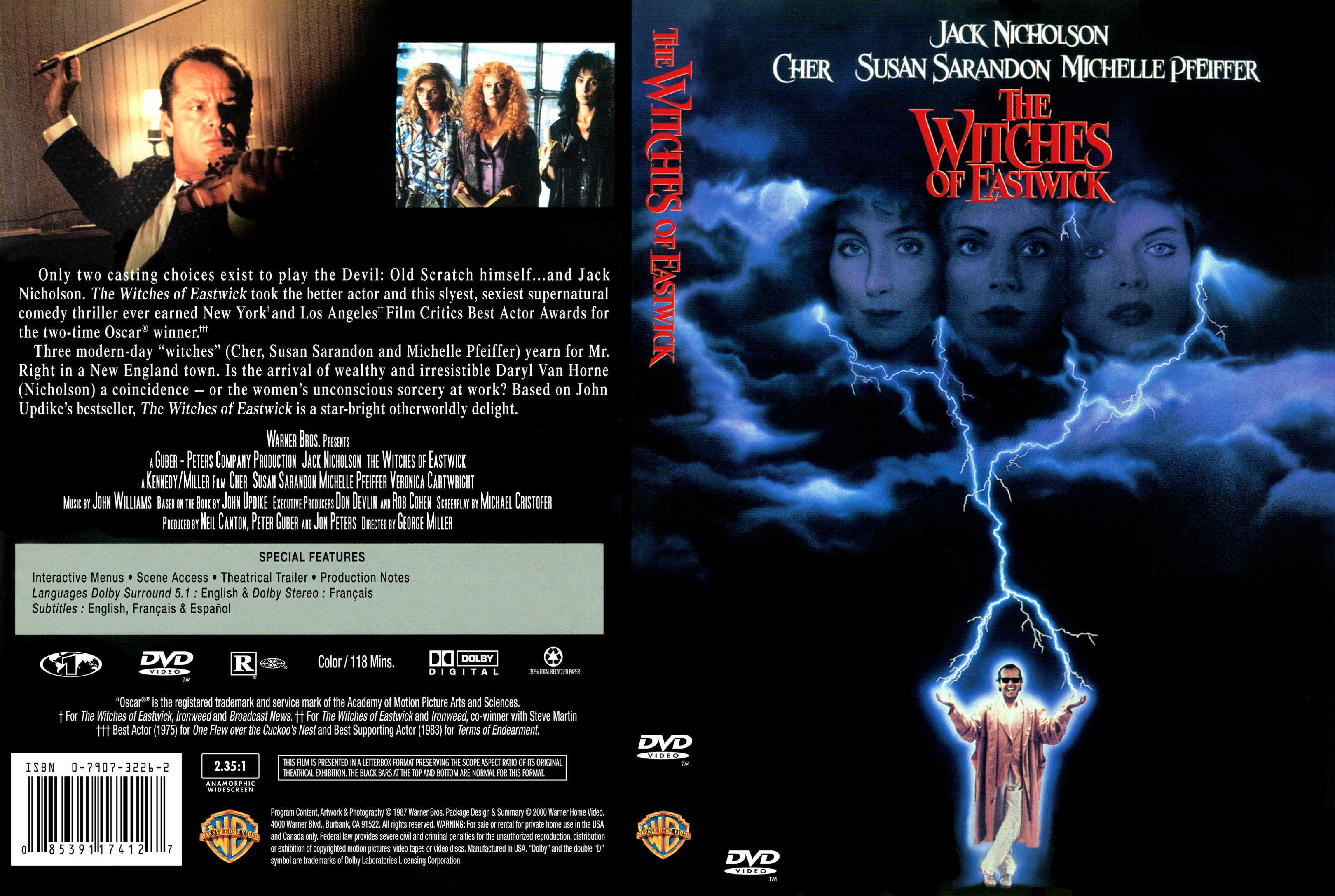 COVERS.BOX.SK ::: The Witches of Eastwick 1987 - high ... | 3240 x 2175 jpeg 1012kB