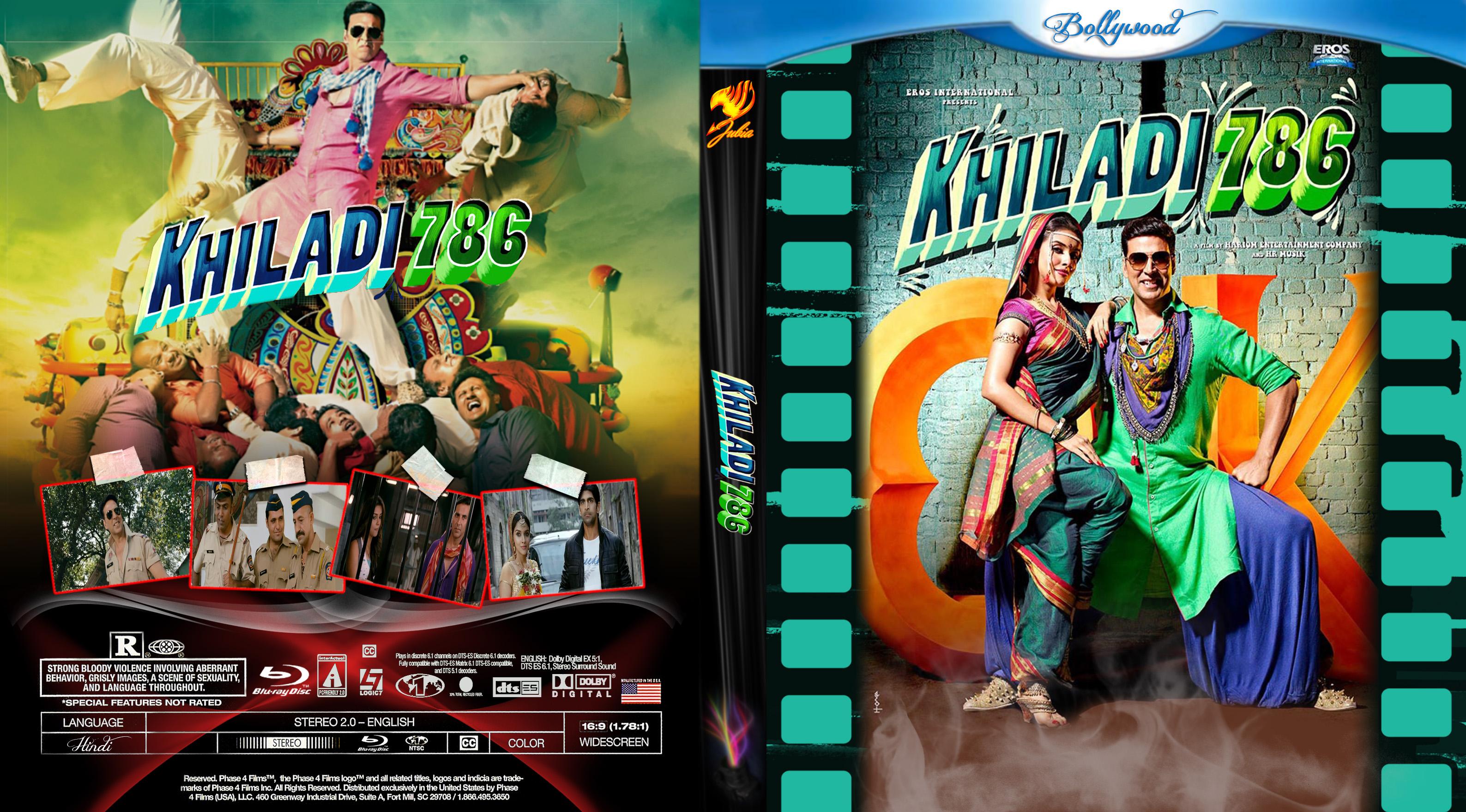 Covers Box Sk Khiladi 786 2013 High Quality Dvd Blueray