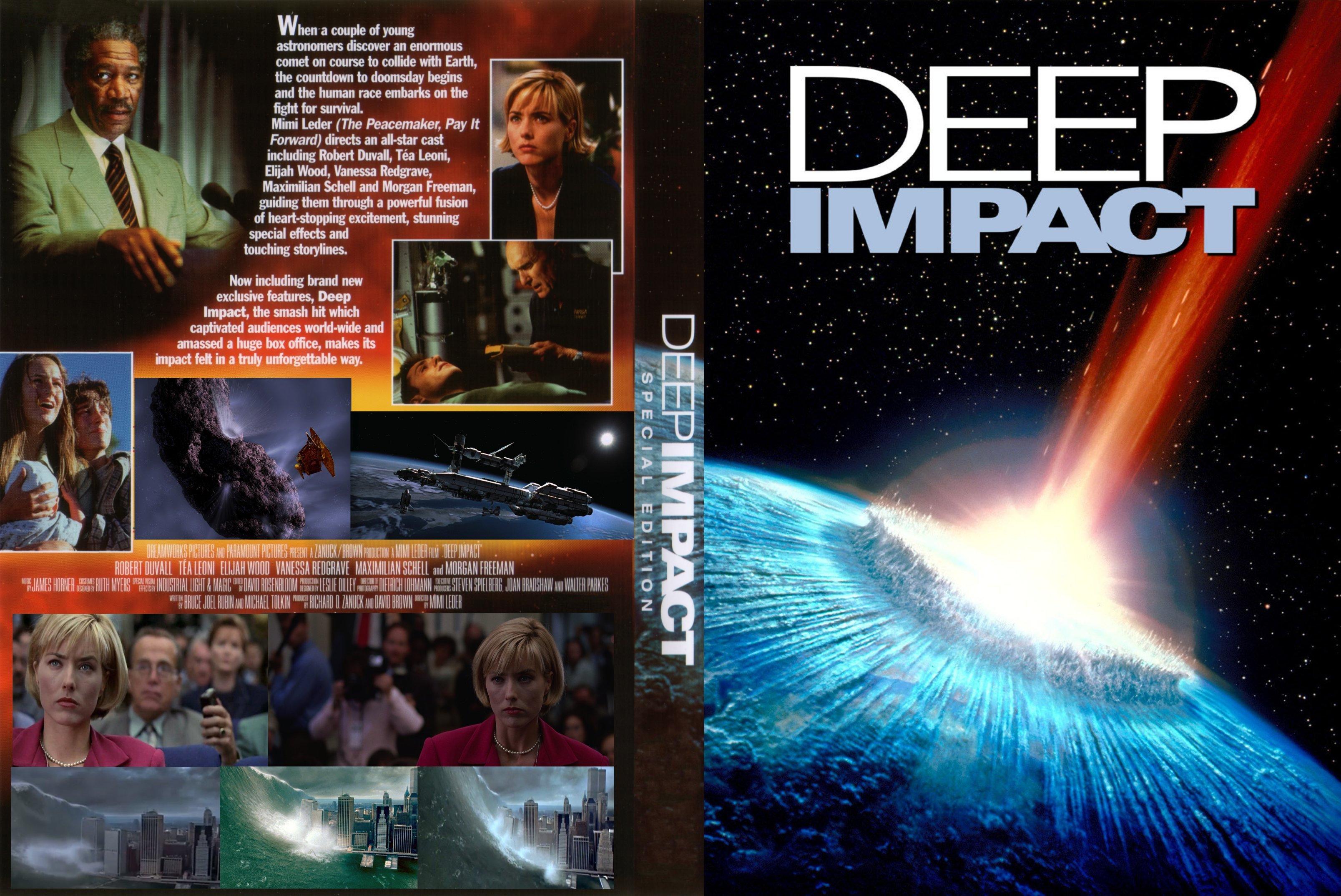 Covers Box Sk Deep Impact 1998 High Quality Dvd Blueray Movie