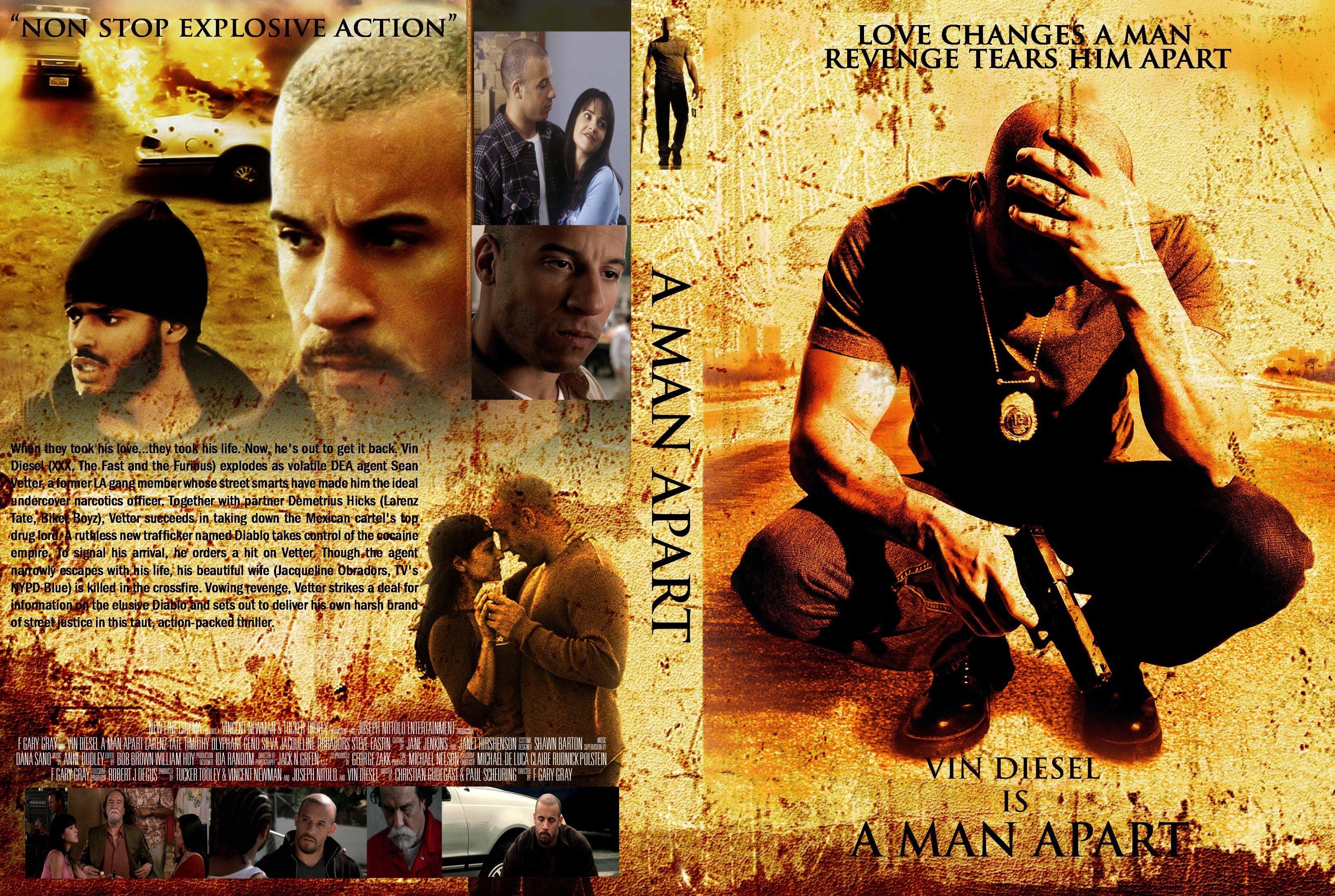 COVERS.BOX.SK ::: A Man Apart 2003 - high quality DVD ...