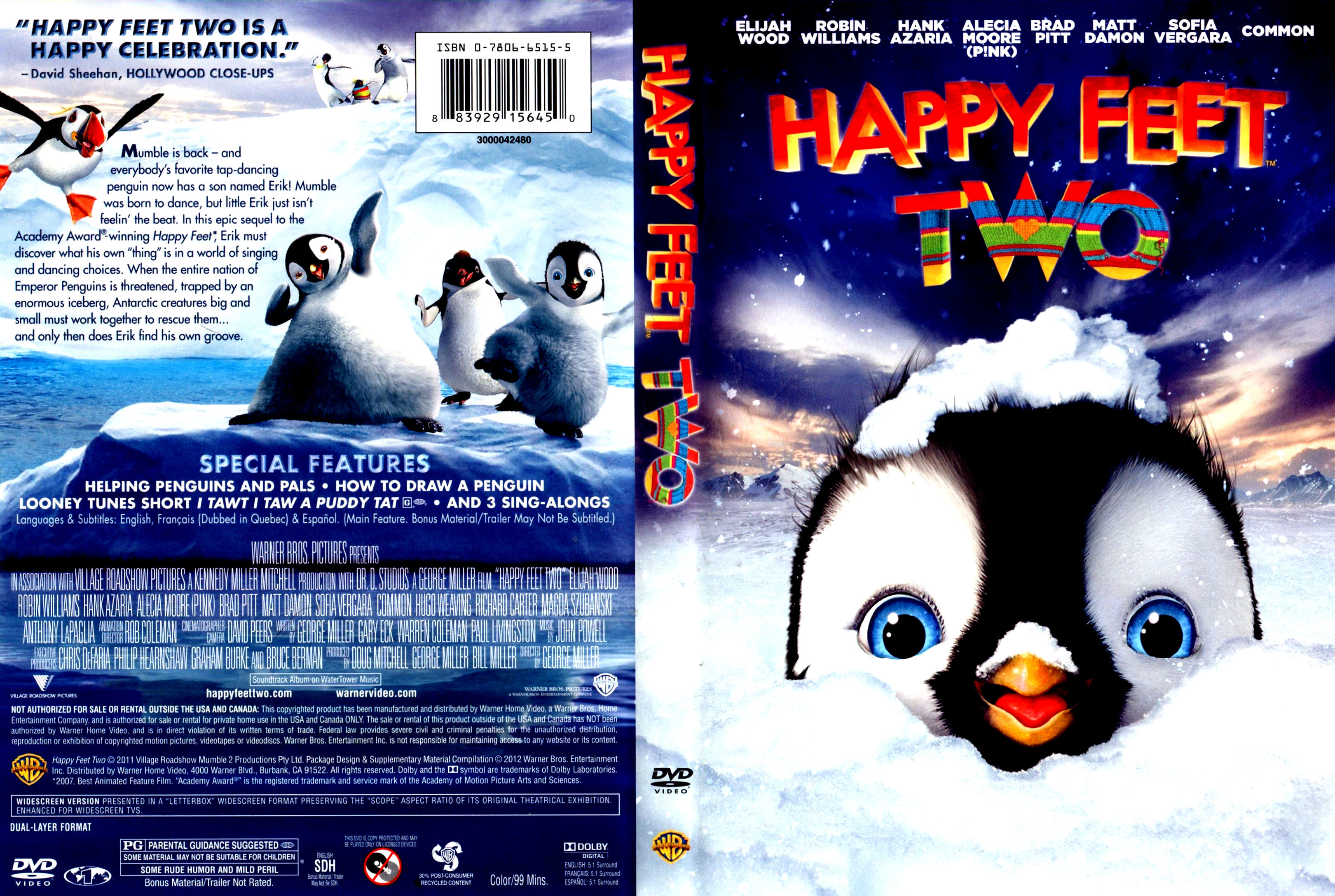 Happy Feet Dvd Pictures To Pin On Pinterest Pinsdaddy
