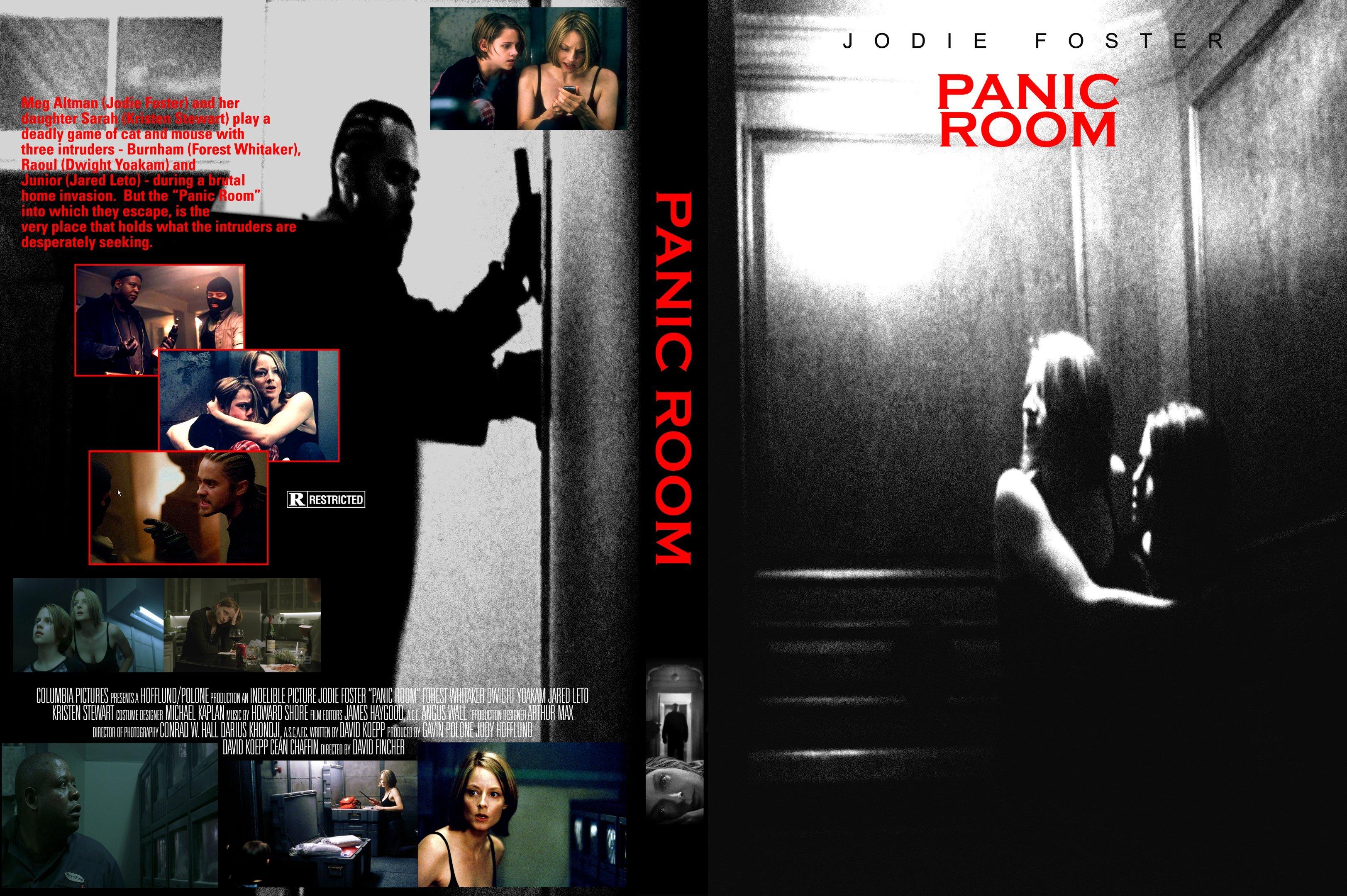 Covers Box Sk Panic Room 2002 High Quality Dvd Blueray Movie