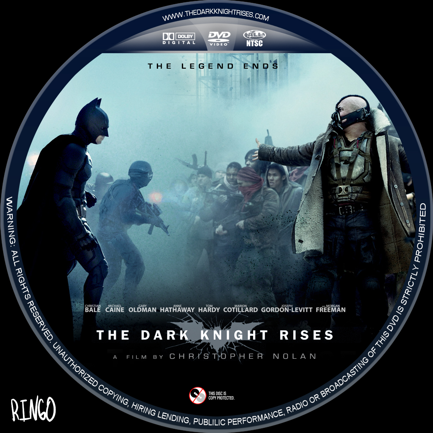 The Dark Knight Rises Cover Art
