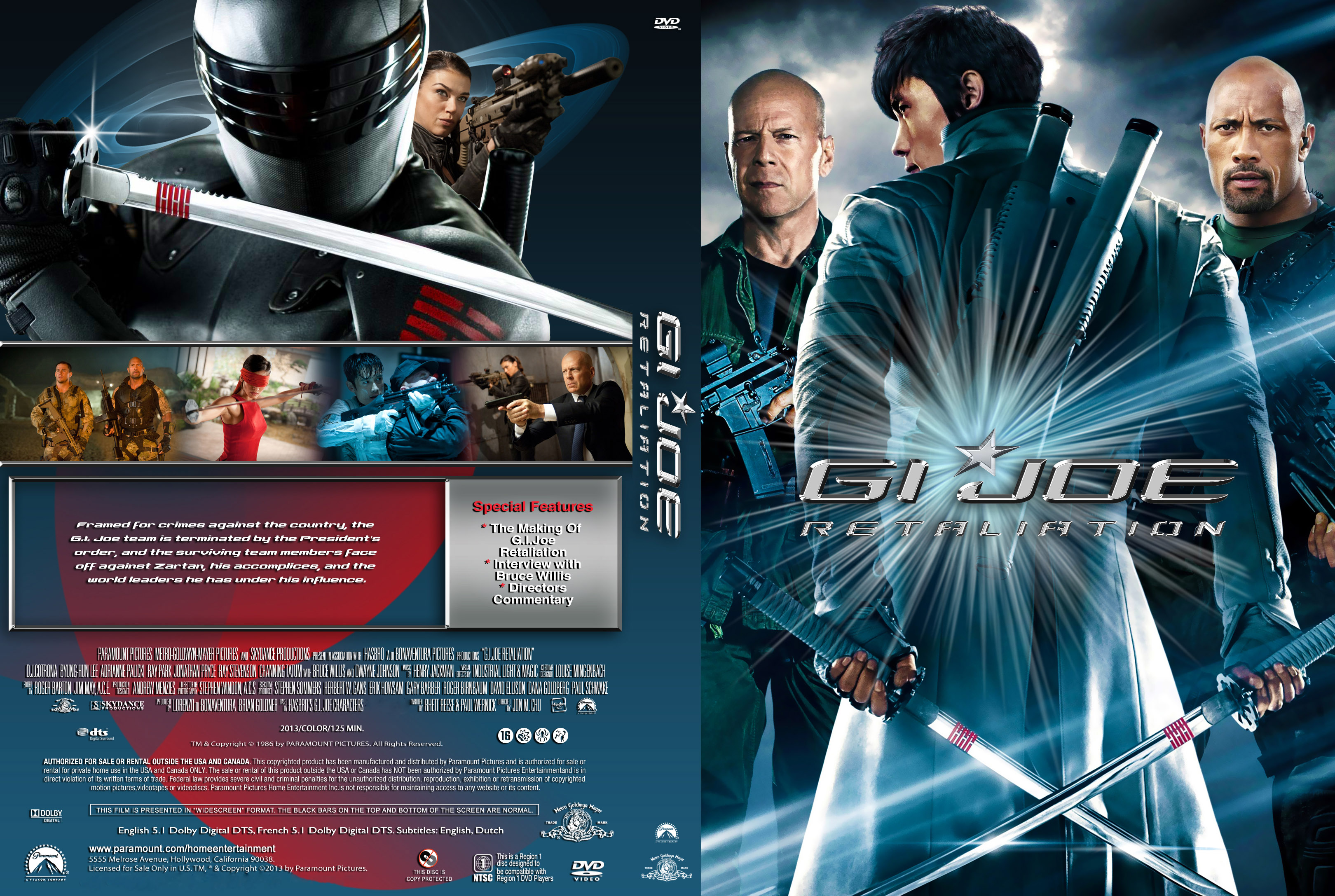 covers.box.sk ::: g.i. joe: retaliation (2013) - high quality dvd