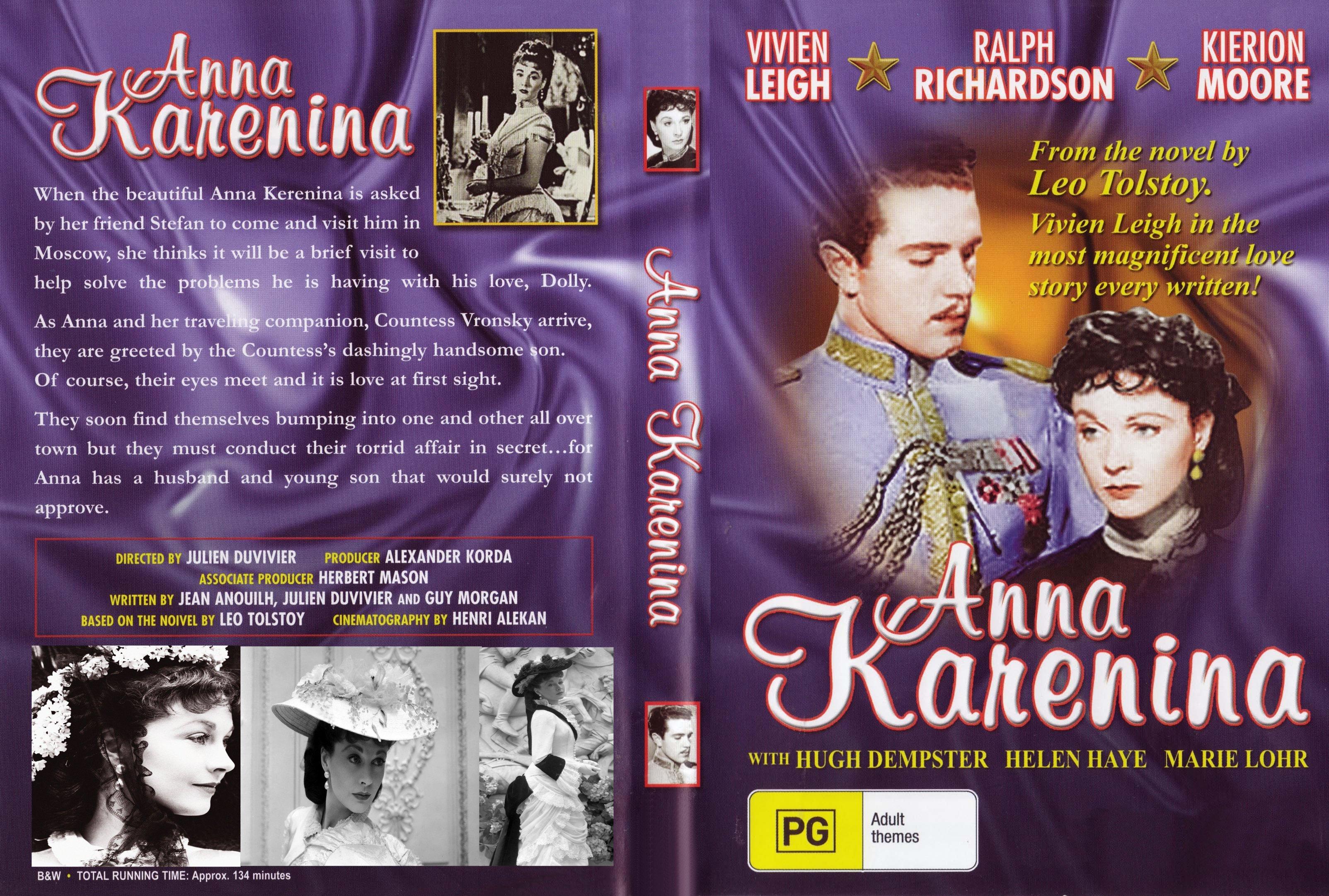 Anna Karenina Cover Anna karenina 1948 front