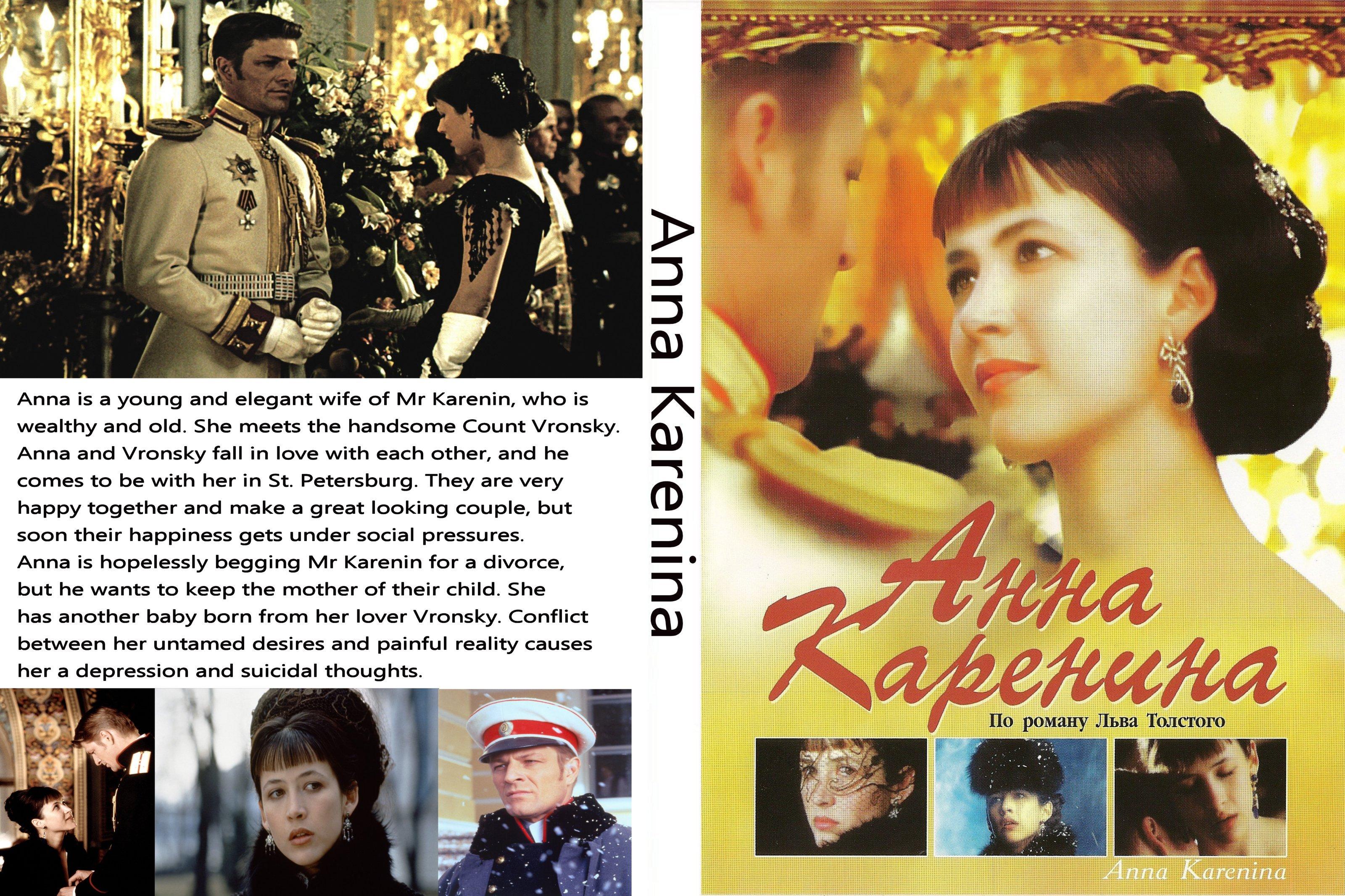 Anna Karenina Cover Anna karenina 1997 front