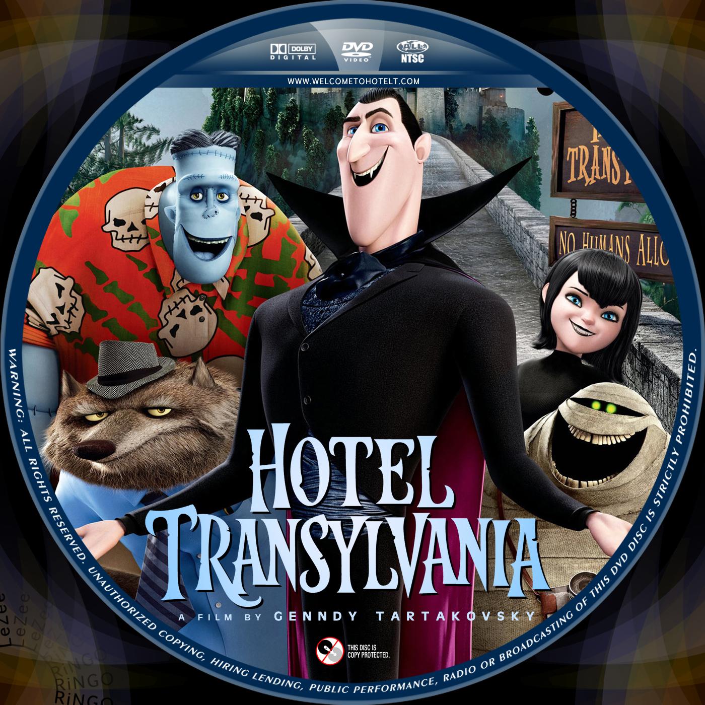 Covers box sk hotel transylvania 2012 high quality dvd