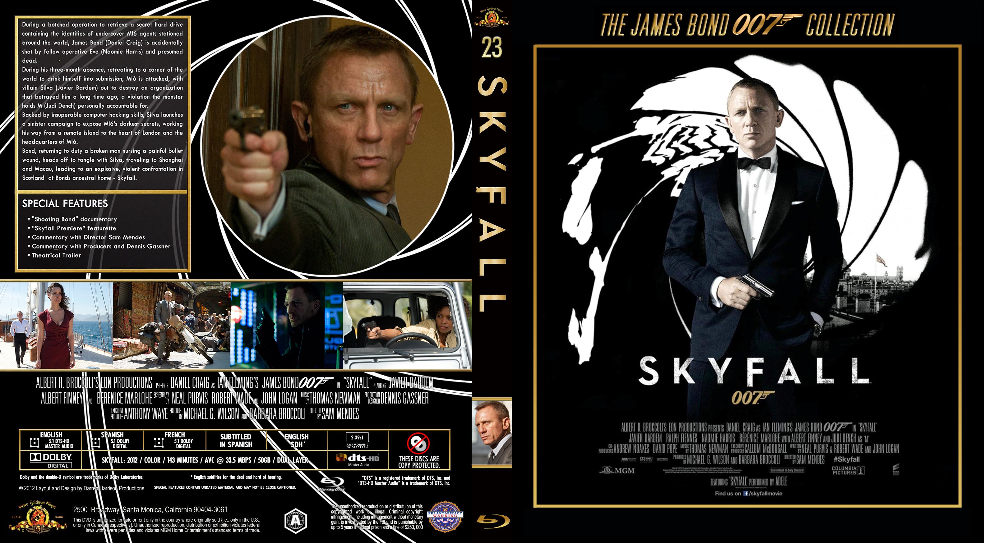 COVERS BOX SK ::: skyfall (2012) - high quality DVD / Blueray / Movie