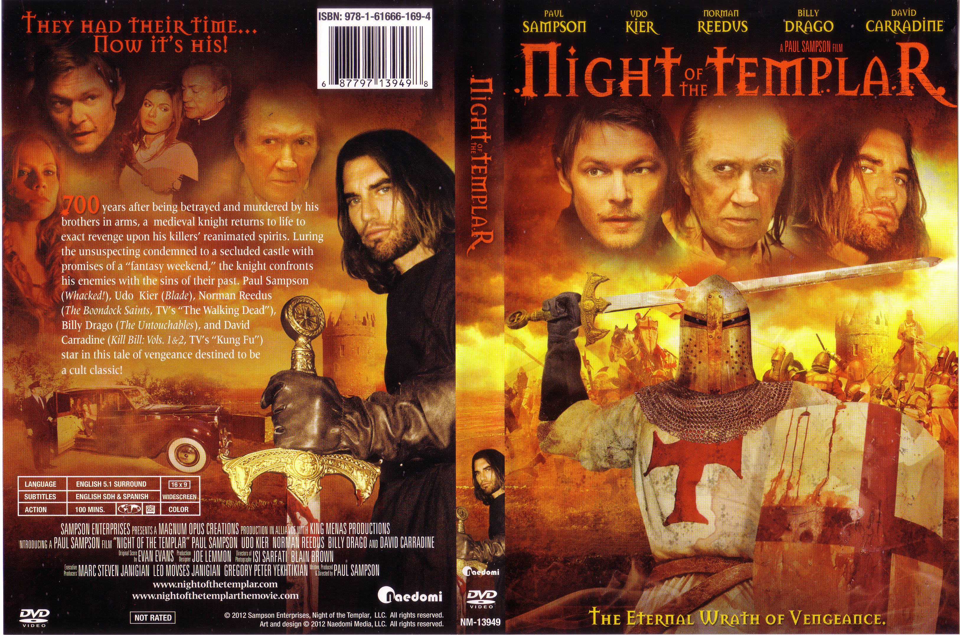 COVERS BOX SK ::: night of the templar 2012 - high quality