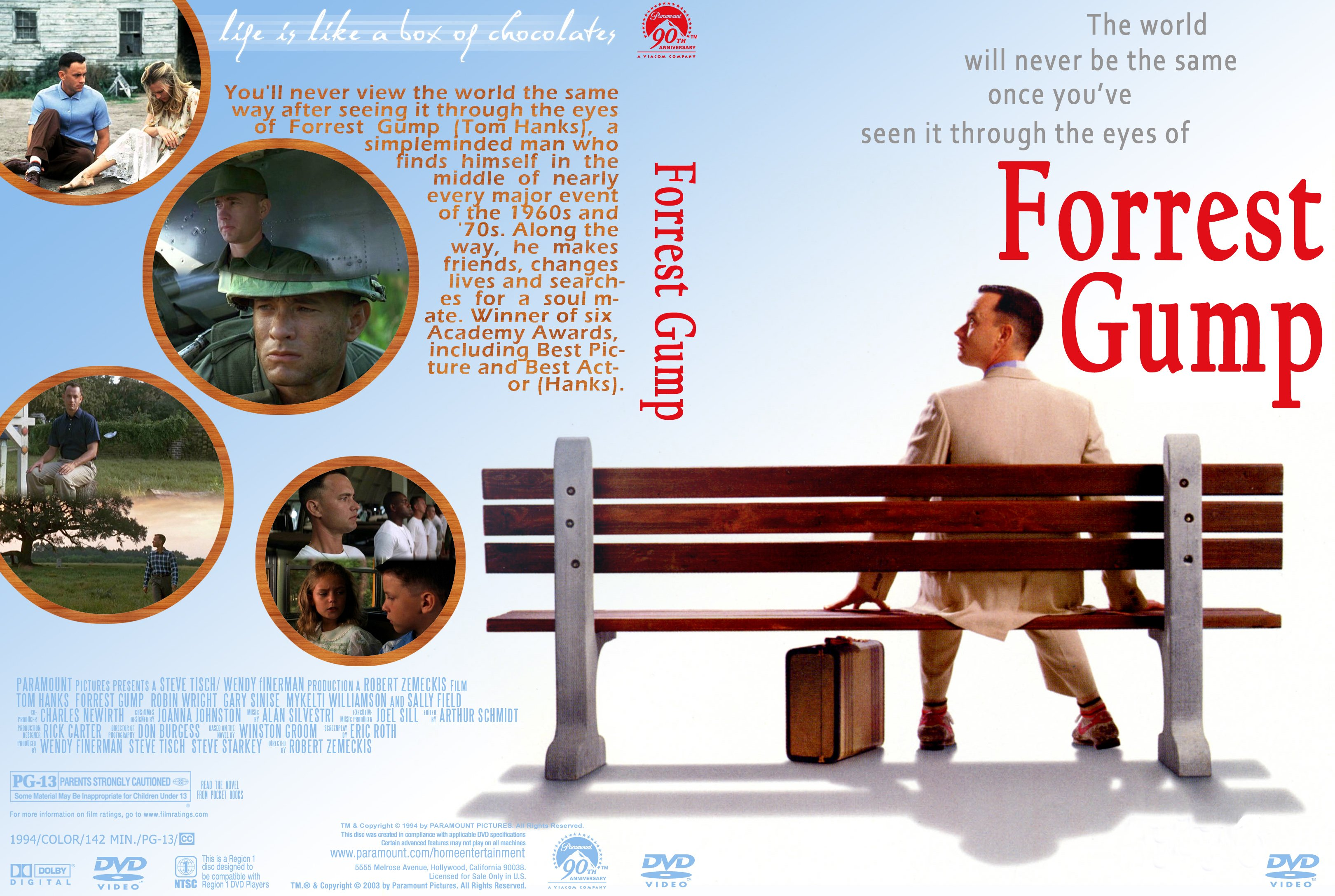 Covers Box Sk Forrest Gump 1994 High Quality Dvd Blueray Movie