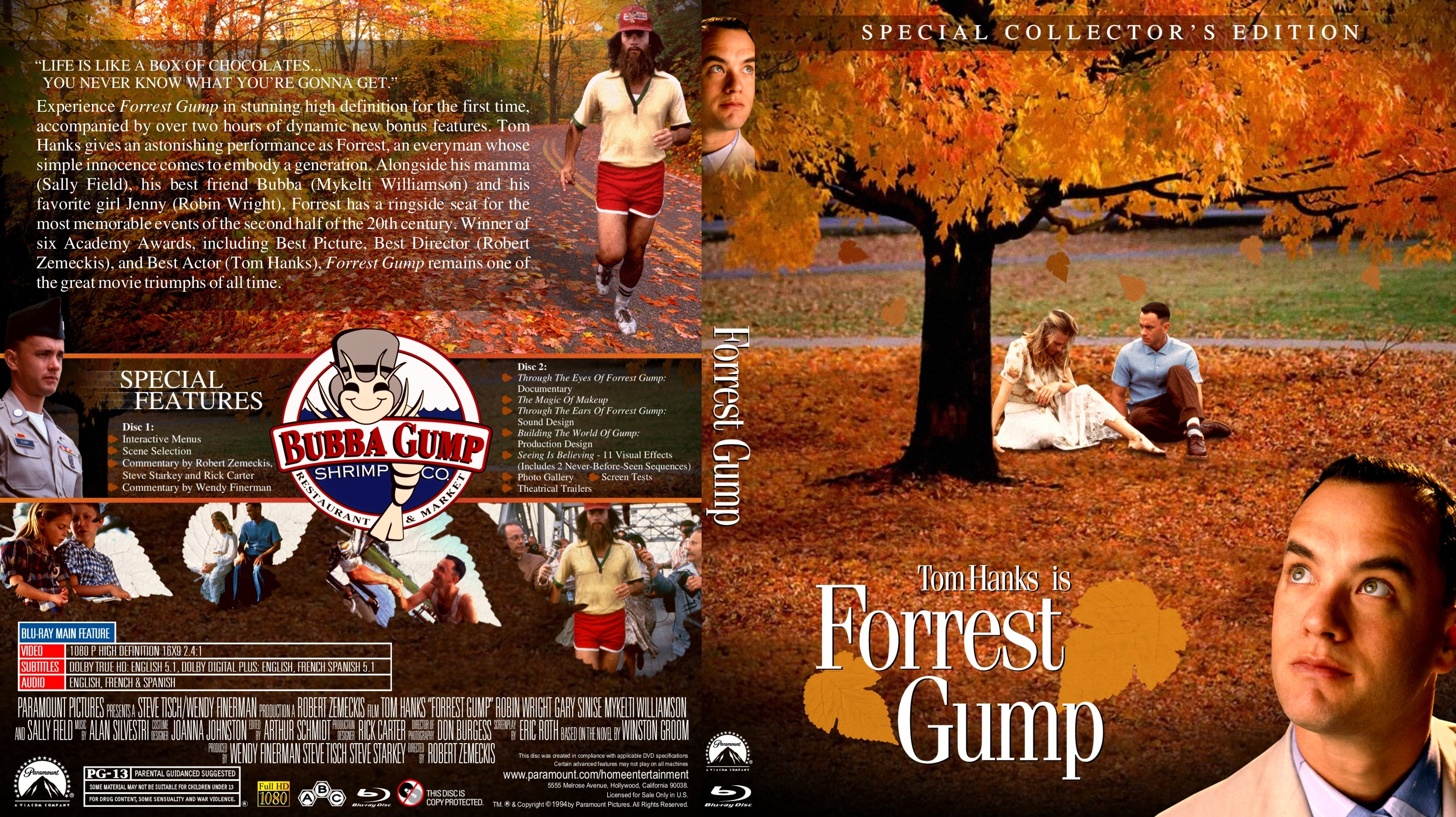 forrest gump one of the best american movies ever produced