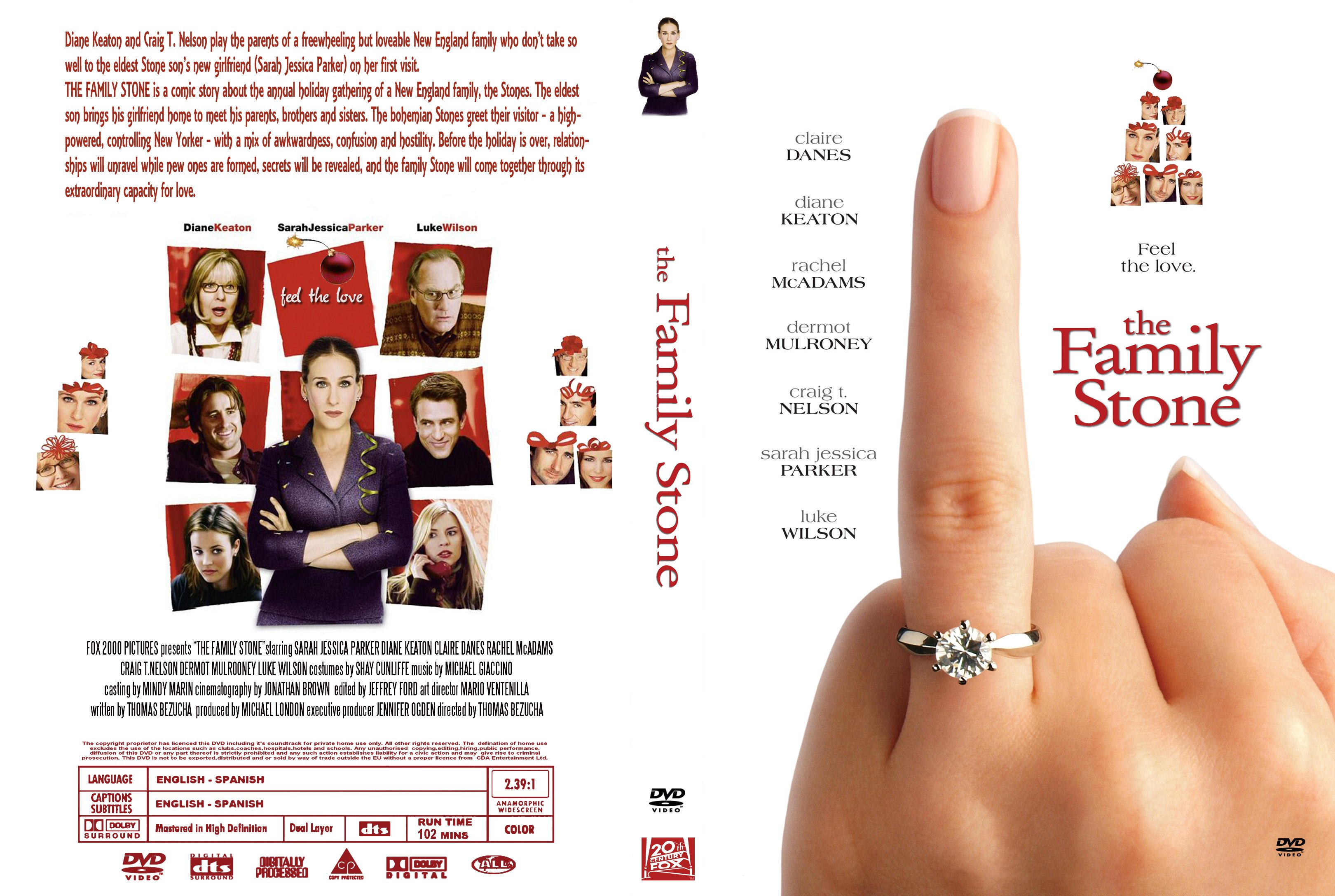 COVERS.BOX.SK ::: The Family Stone 2005 - high quality DVD ...