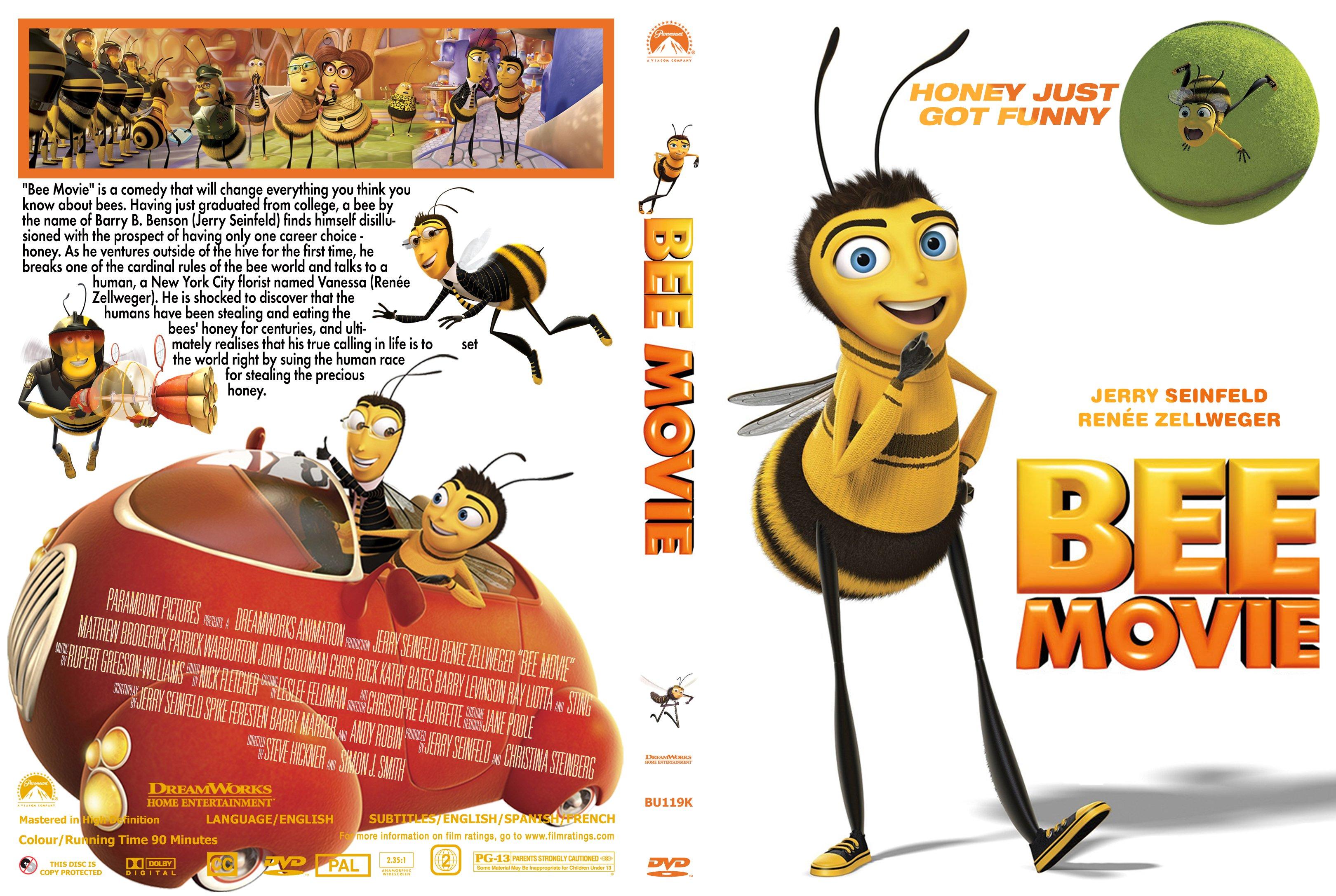 Covers Box Sk Bee Movie 2007 High Quality Dvd Blueray Movie