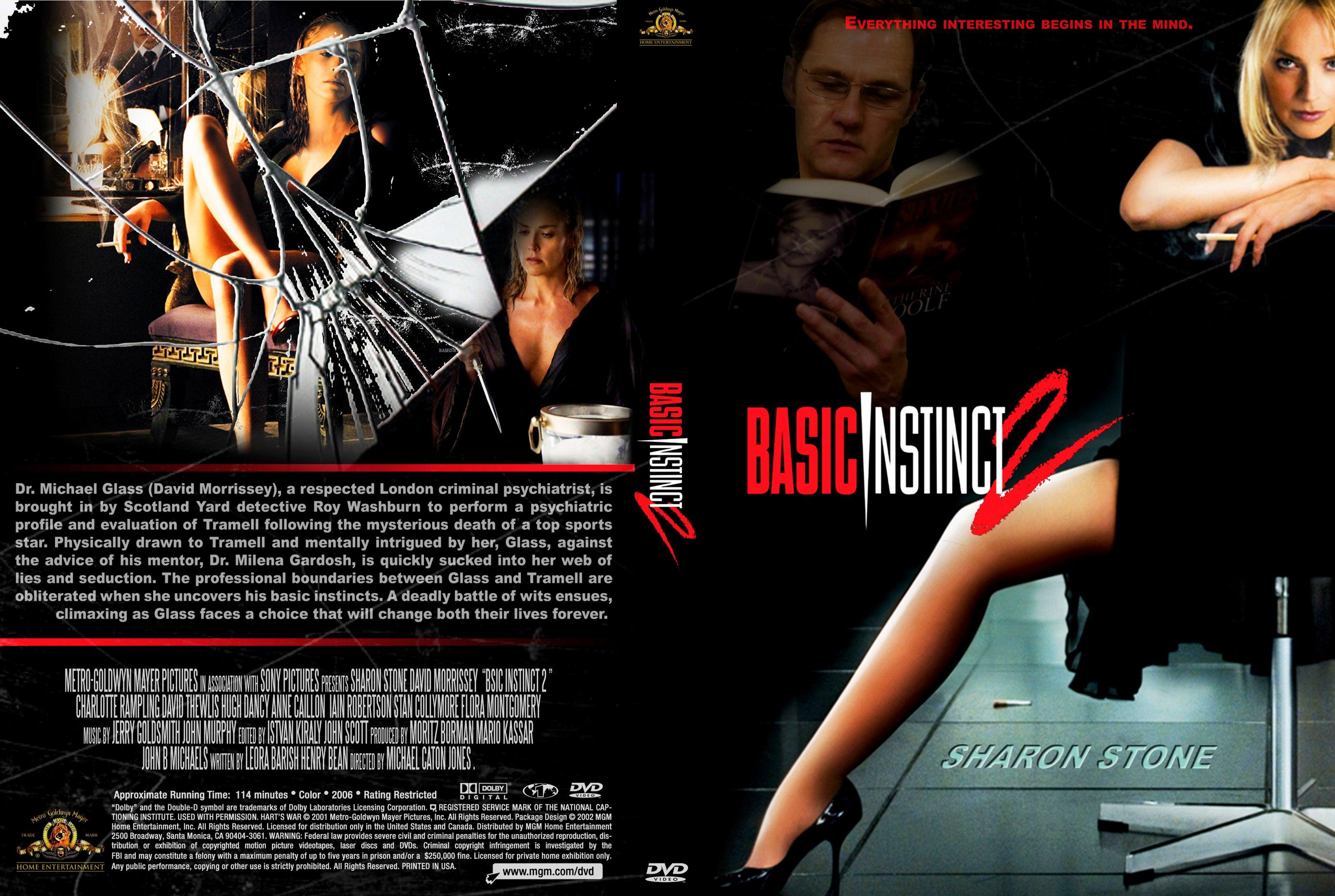 Sharon stone basic instinct 2: risk addiction (2006 stock photo.