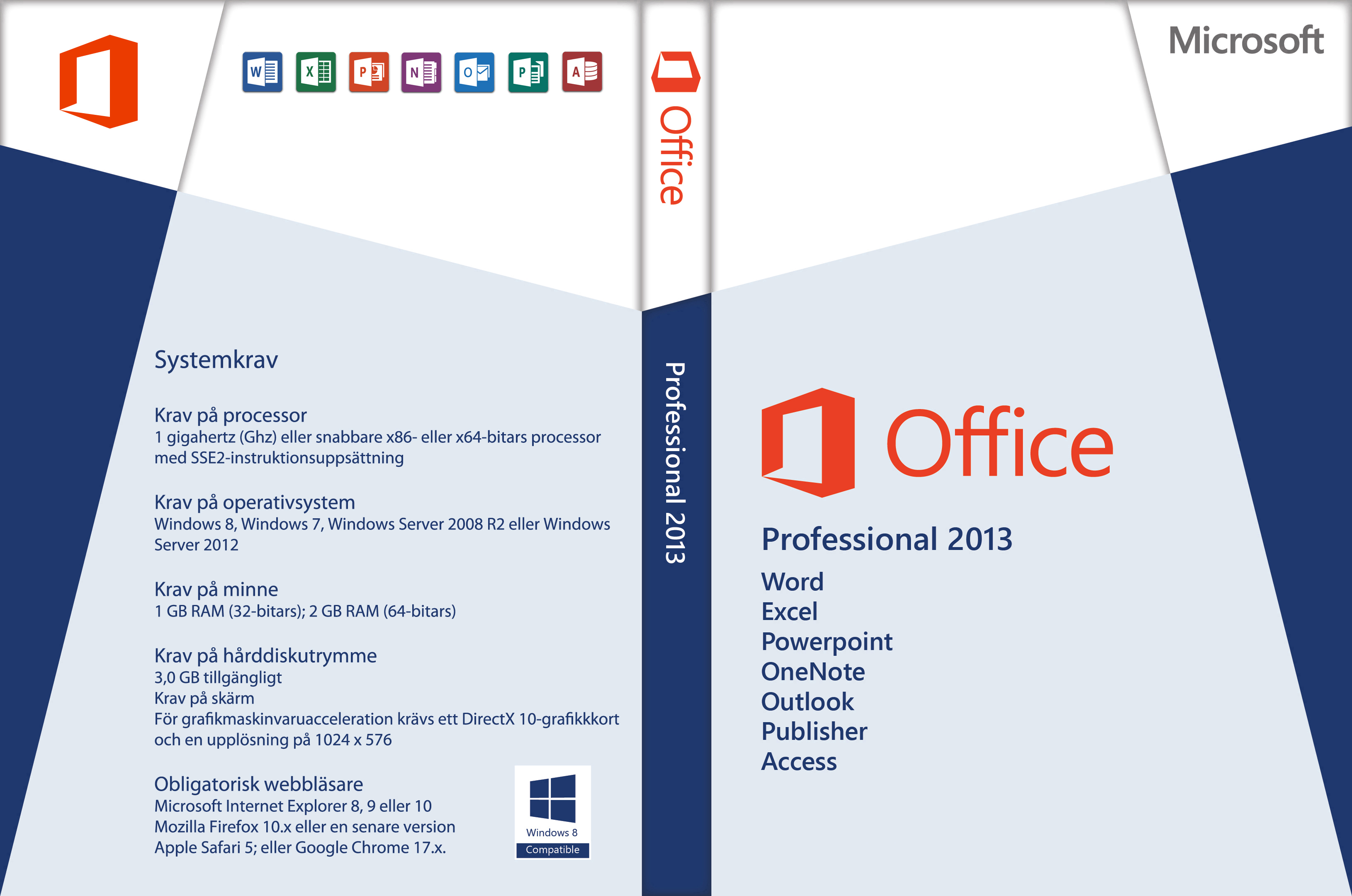covers box sk microsoft office professional 2013. Black Bedroom Furniture Sets. Home Design Ideas