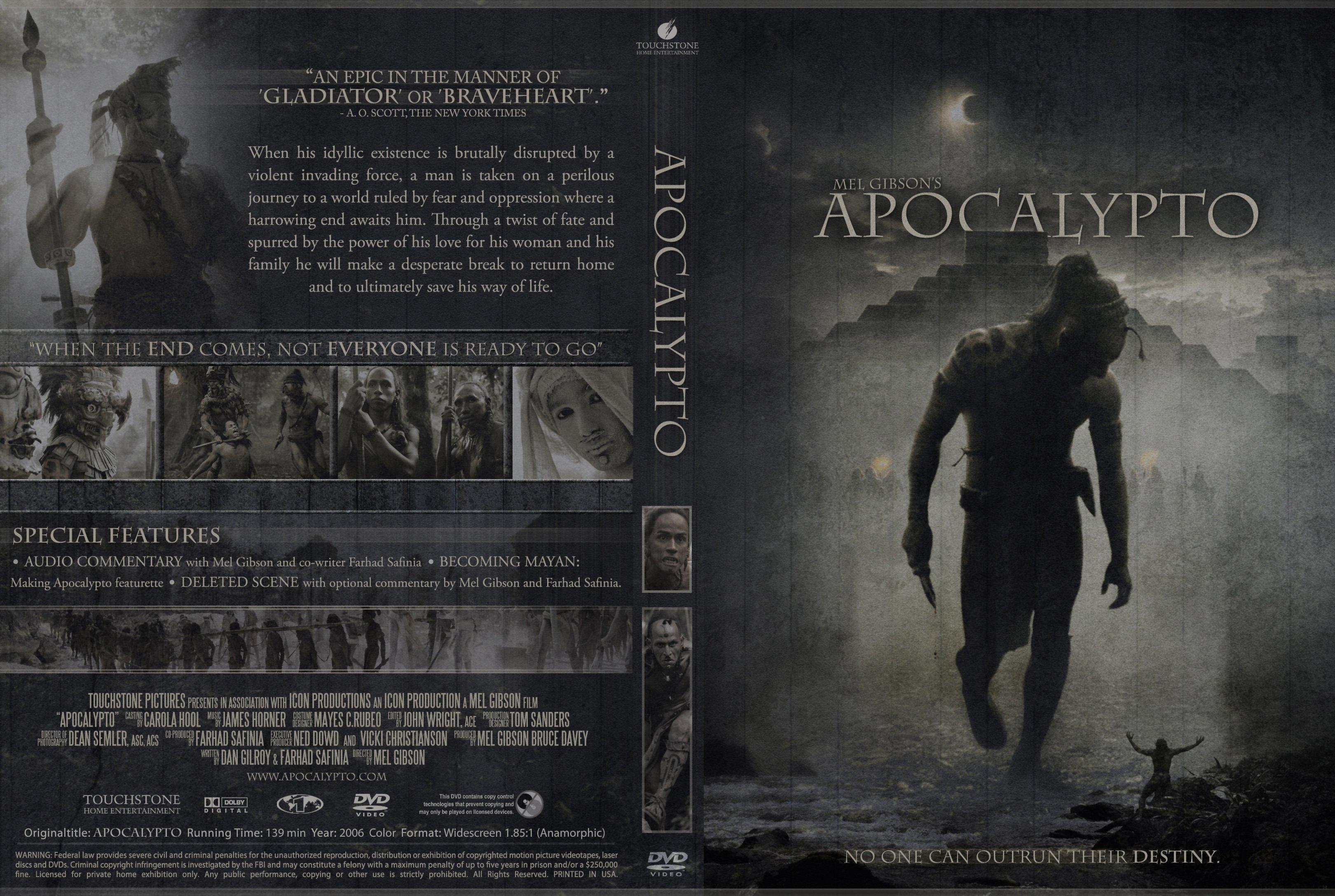 COVERS BOX SK ::: Apocalypto 2006 - high quality DVD / Blueray / Movie