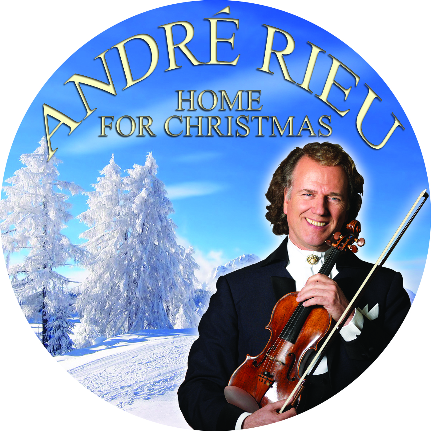 COVERS.BOX.SK ::: Andre Rieu - Home For Christmas - high quality ...